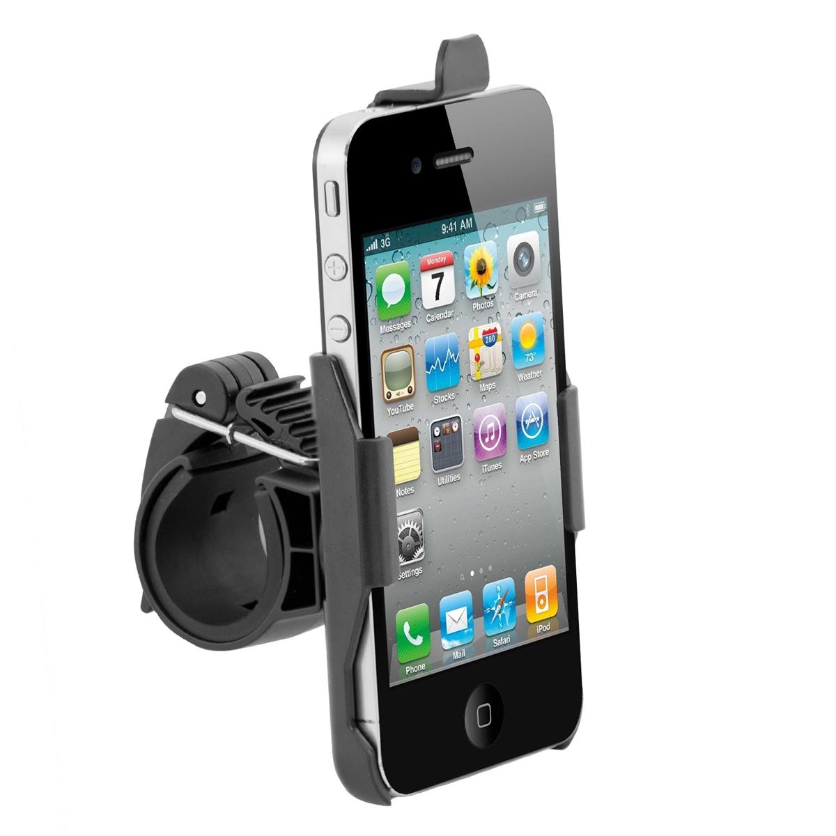 fahrrad halterung f r apple iphone 4 4s halter motorrad. Black Bedroom Furniture Sets. Home Design Ideas