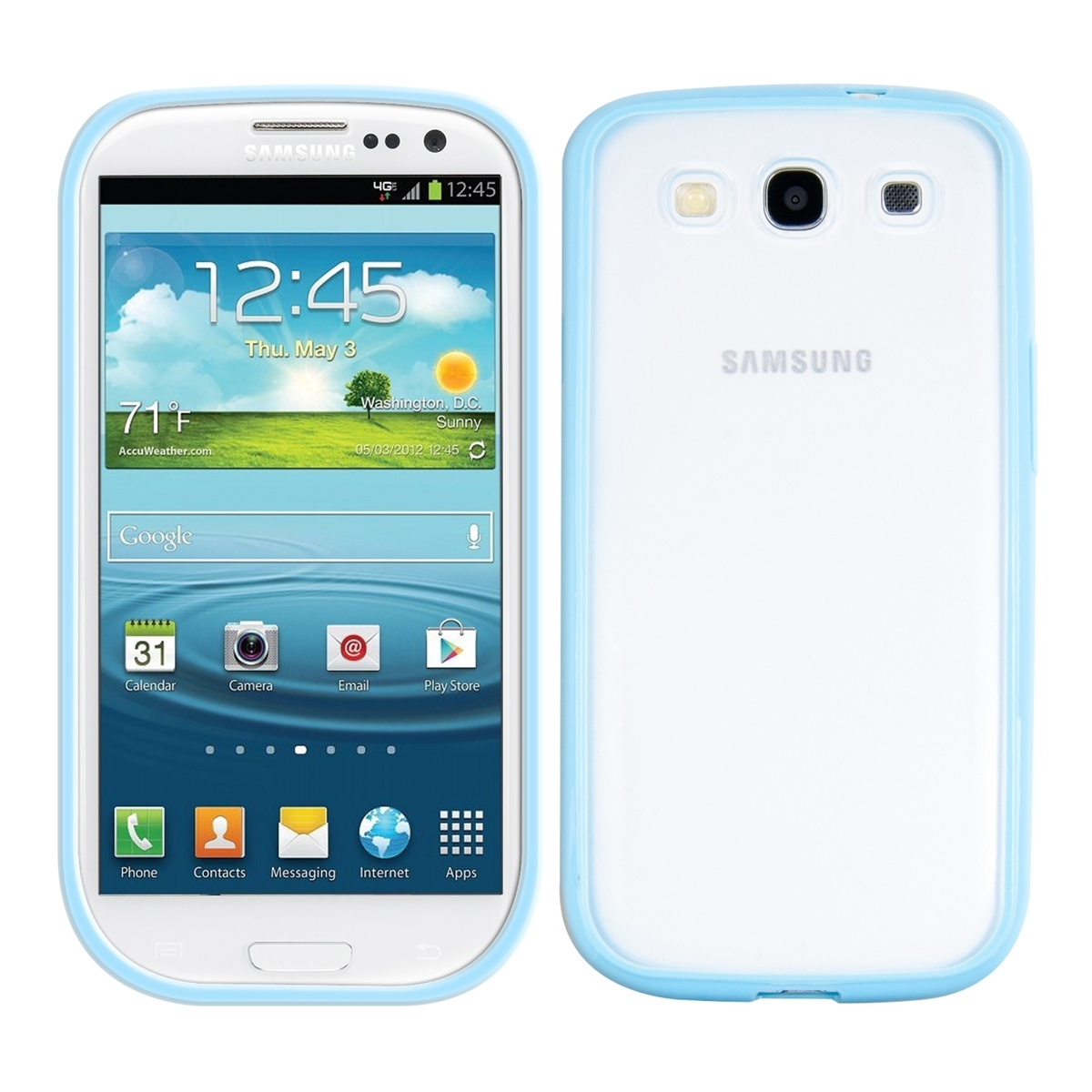 tpu silicone crystal case for samsung galaxy s3 s3 neo. Black Bedroom Furniture Sets. Home Design Ideas