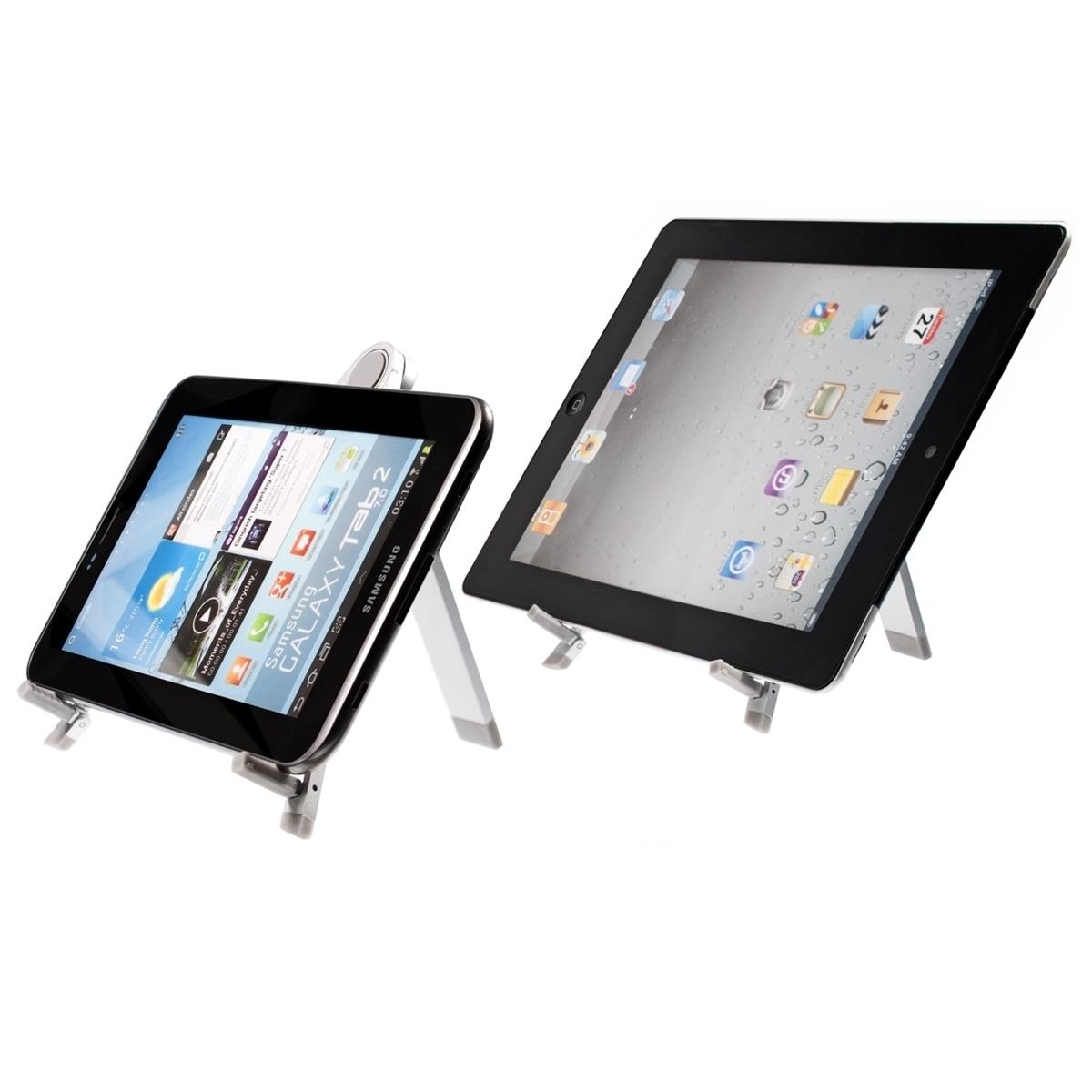 Kwmobile soporte de tableta para tablets mesa metal - Soporte tablet mesa ...