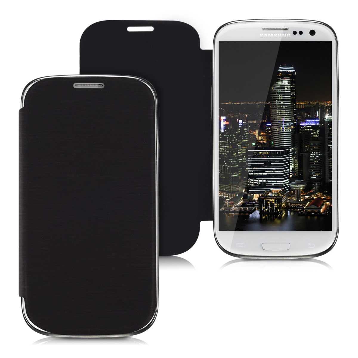Kvalitní plastové pouzdro pro Samsung S3 | S3 Neo - černé
