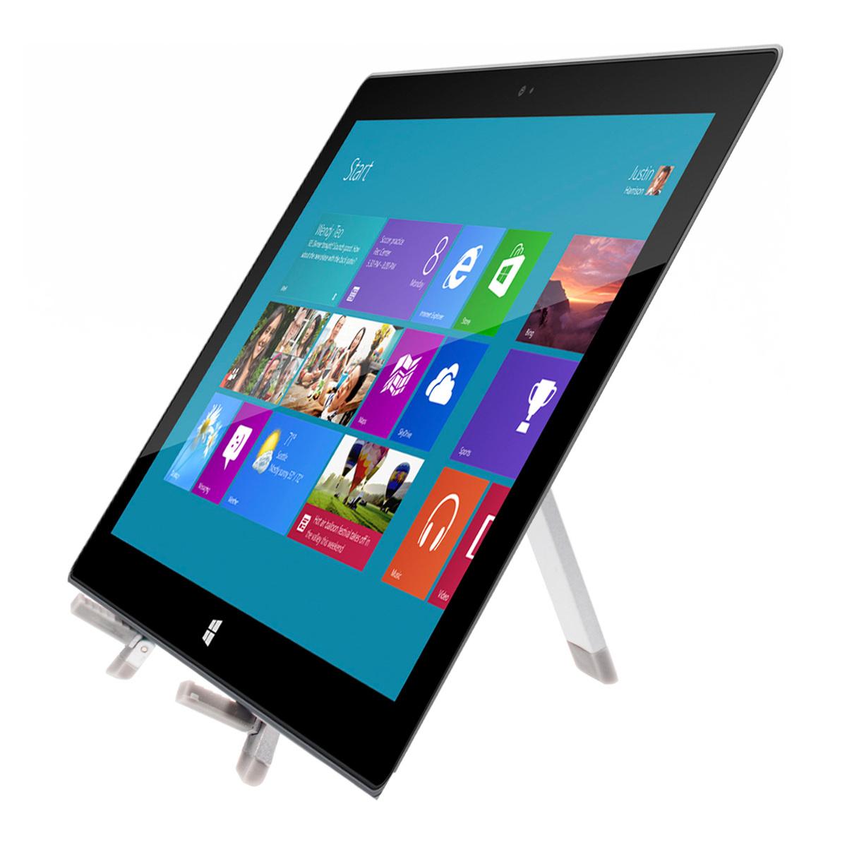kwmobile tablet halter f r microsoft surface rt st nder. Black Bedroom Furniture Sets. Home Design Ideas