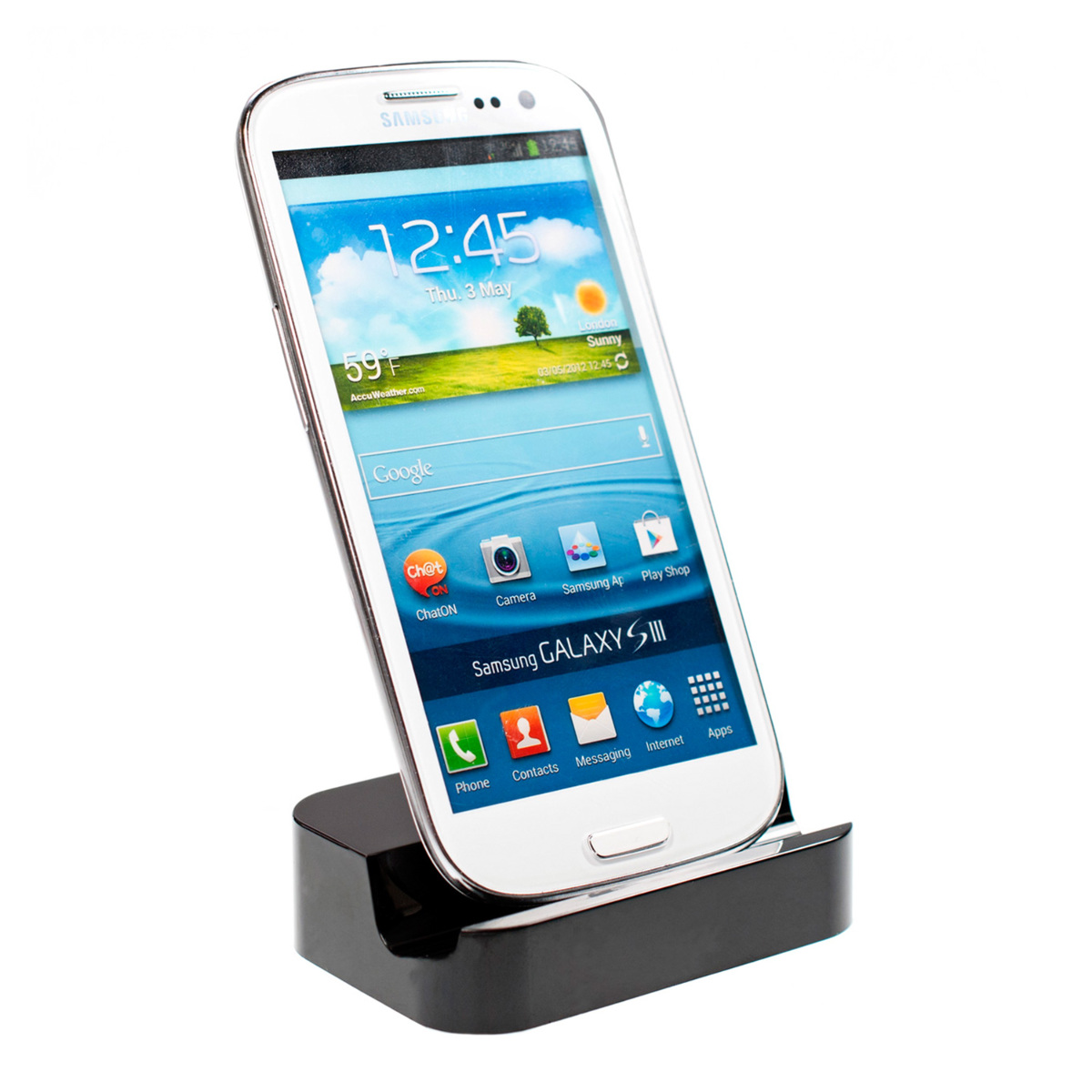 kwmobile docking station f r samsung galaxy s3 s3 neo. Black Bedroom Furniture Sets. Home Design Ideas