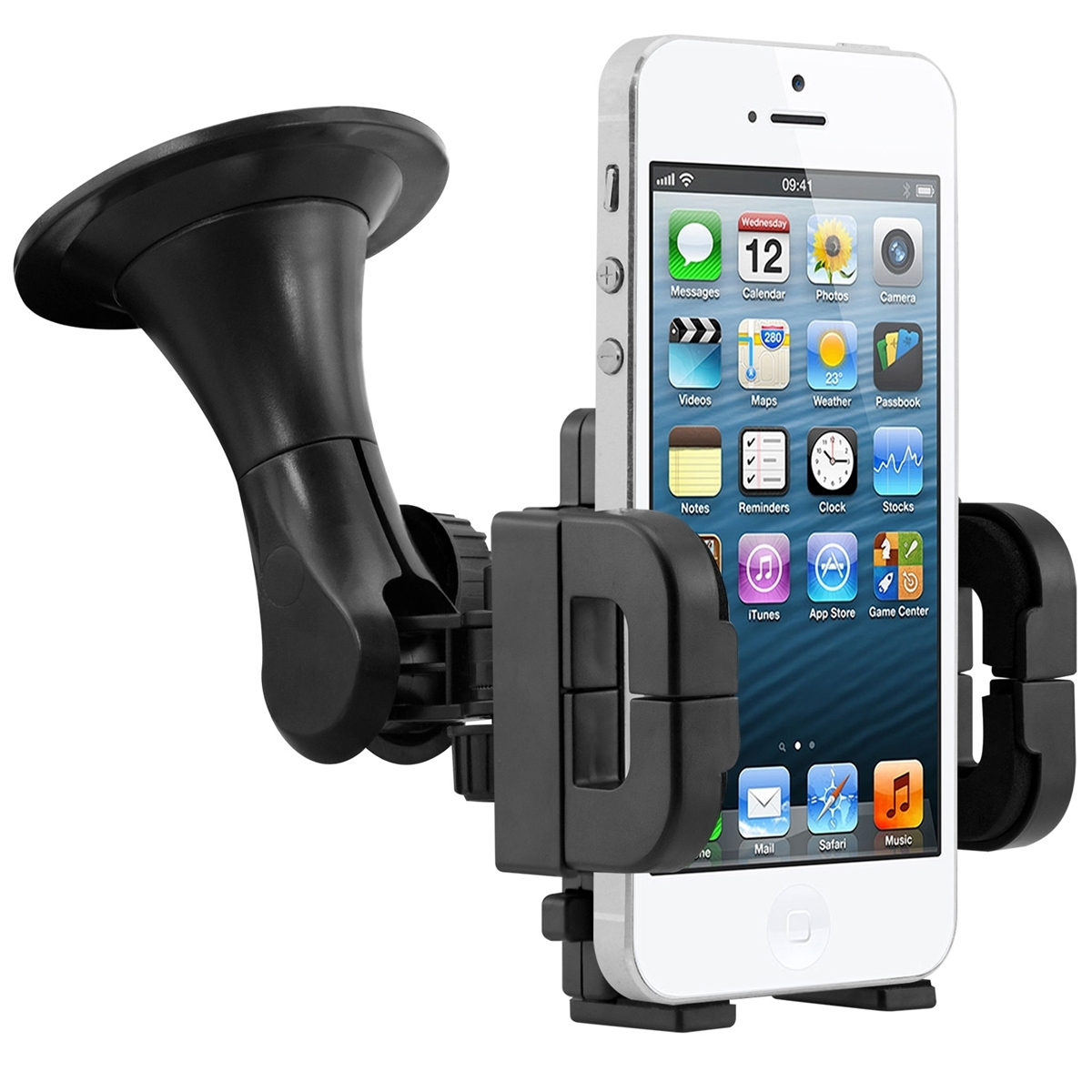 iphone 5s car mount kwmobile wind screen car holder for apple iphone se 5 5s 2181