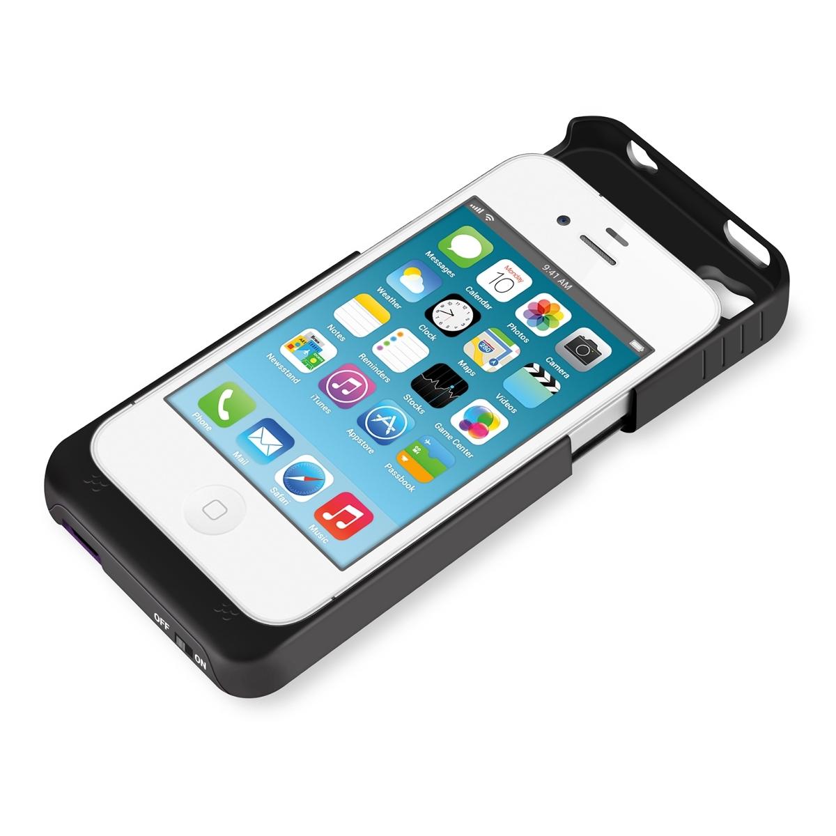 kwmobile external battery case f apple iphone 4 4s 1900mah. Black Bedroom Furniture Sets. Home Design Ideas