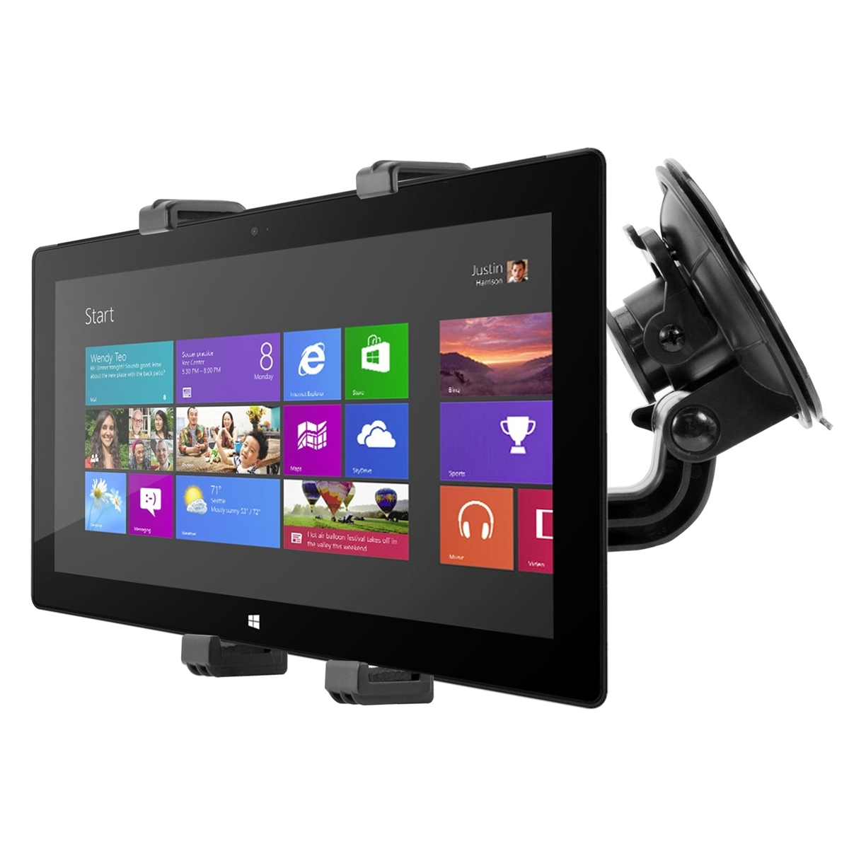 kwmobile support de tablette pour microsoft surface pro. Black Bedroom Furniture Sets. Home Design Ideas