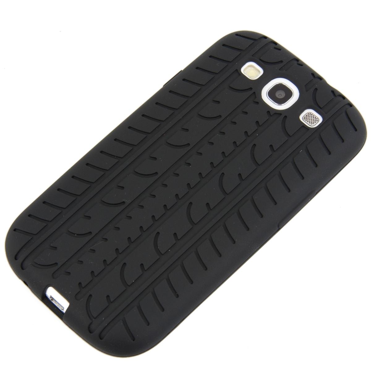 Tpu samsung galaxy s3 s3 neo - Kwmobile High Quality Wheel Case For Samsung Galaxy S3 S3 Neo In Black Of Soft Tpu