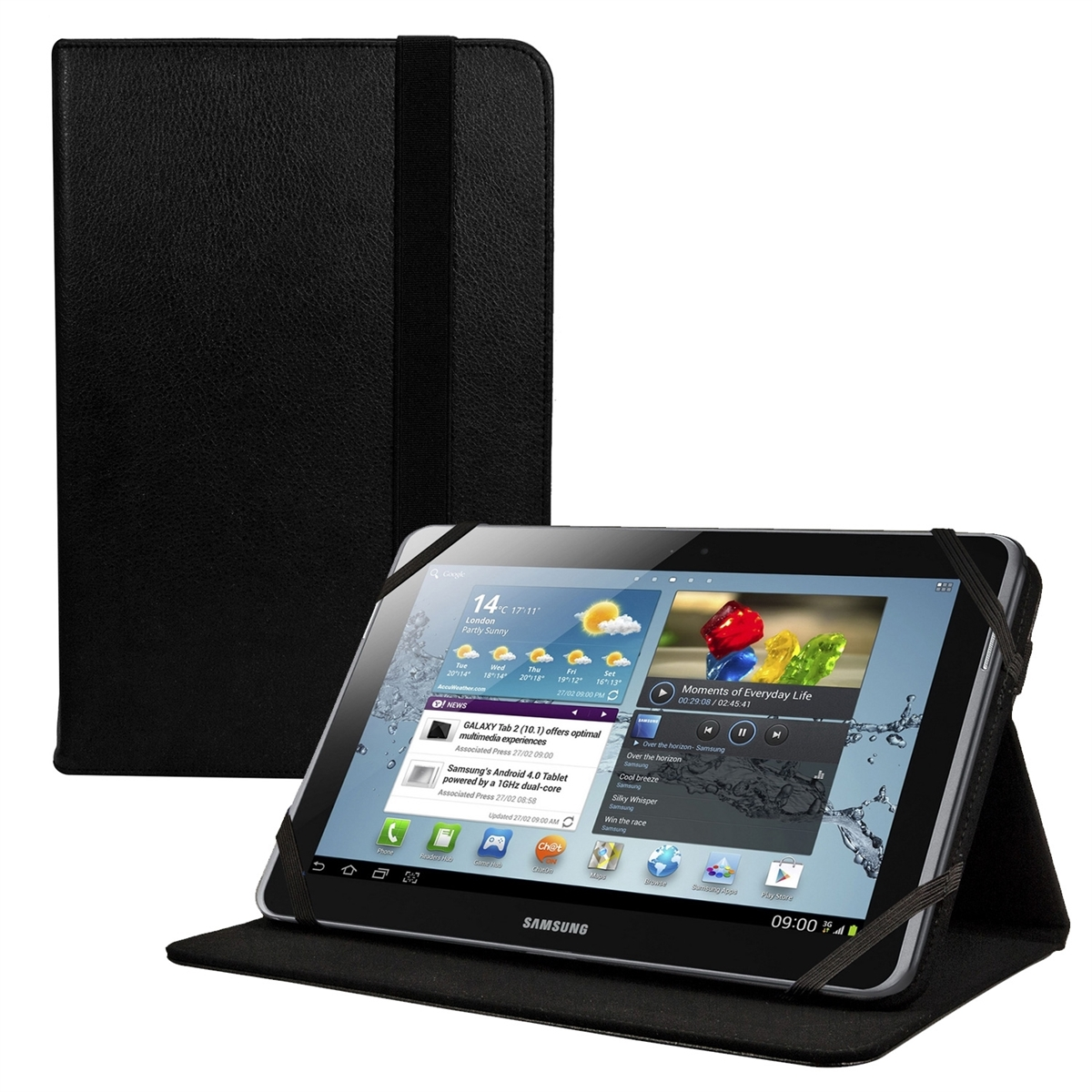 Housse de protection pour samsung galaxy tab 2 10 1 p5100 for Housse galaxy tab e