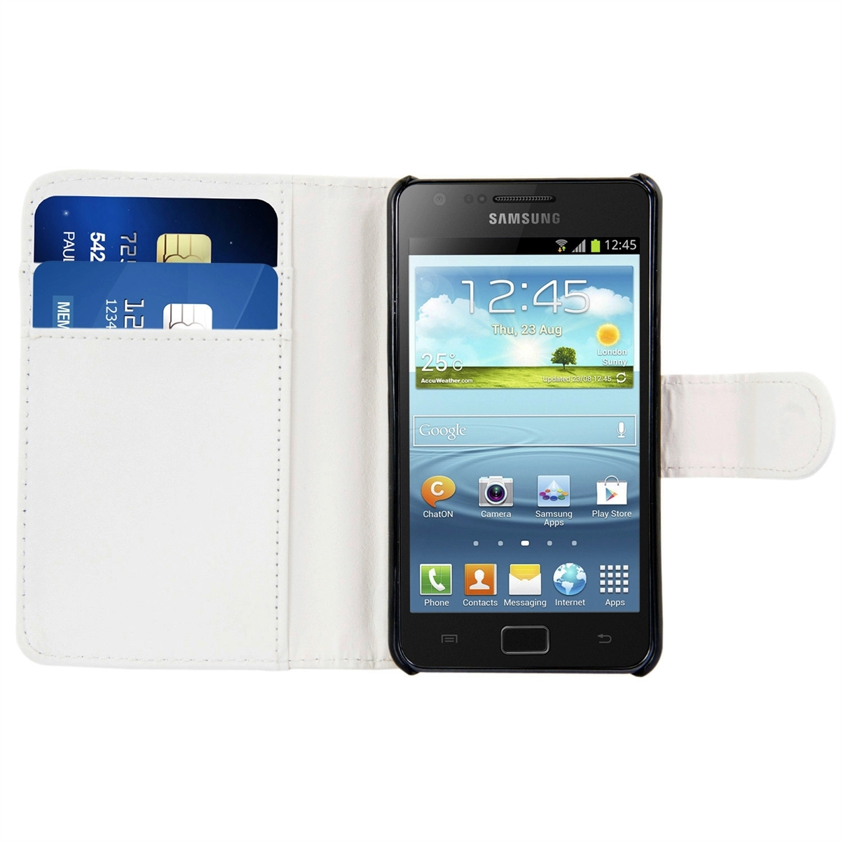 kwmobile wallet synthetic leather case for samsung galaxy. Black Bedroom Furniture Sets. Home Design Ideas