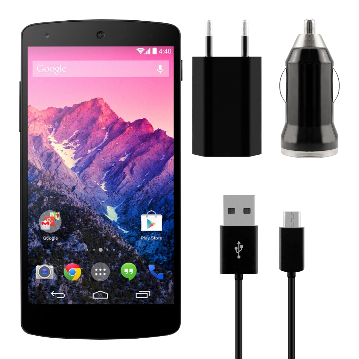 CHARGING-SET-F-LG-GOOGLE-NEXUS-5-POWER-PLUG-ADAPTER-USB-CABLE-CAR-CHARGER-MICRO