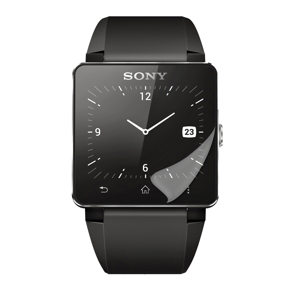 kwmobile SCREEN PROTECTOR FOR SONY SMARTWATCH 2 CRYSTAL ...
