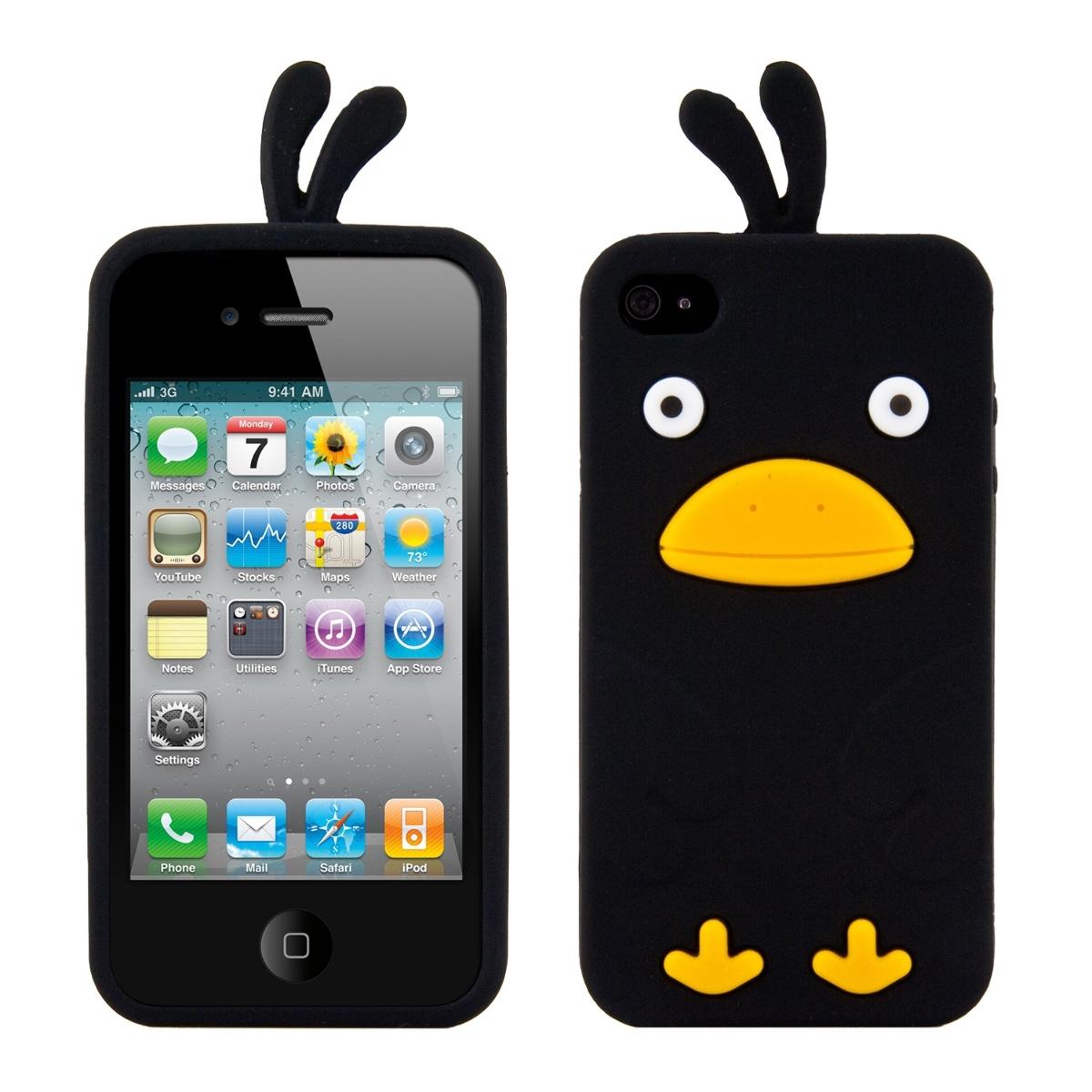 kwmobile tpu silikon case f r apple iphone 4 4s. Black Bedroom Furniture Sets. Home Design Ideas