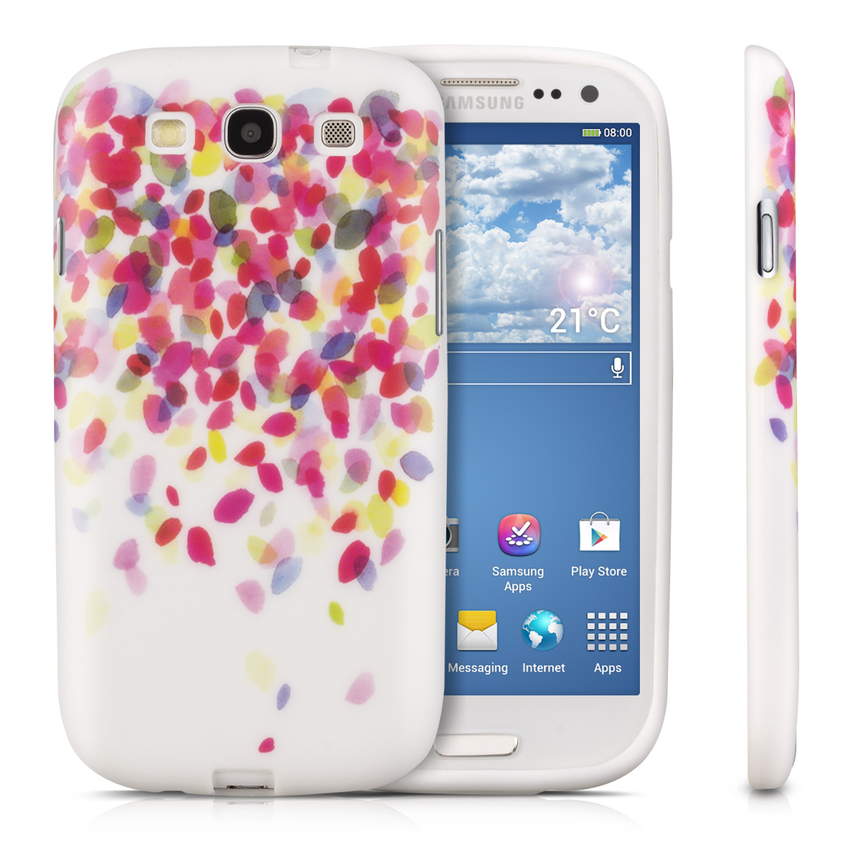 kwmobile tpu silicone case for samsung galaxy s3 i9300. Black Bedroom Furniture Sets. Home Design Ideas