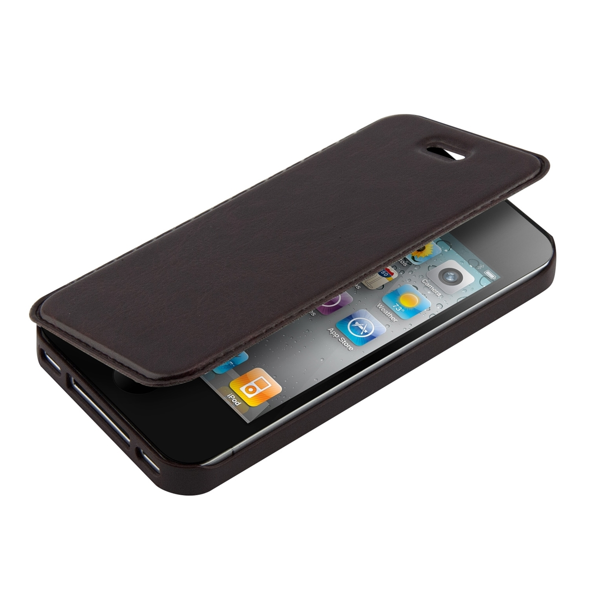 kwmobile flip cover f r apple iphone modelle schutz h lle slim etui tasche ebay. Black Bedroom Furniture Sets. Home Design Ideas