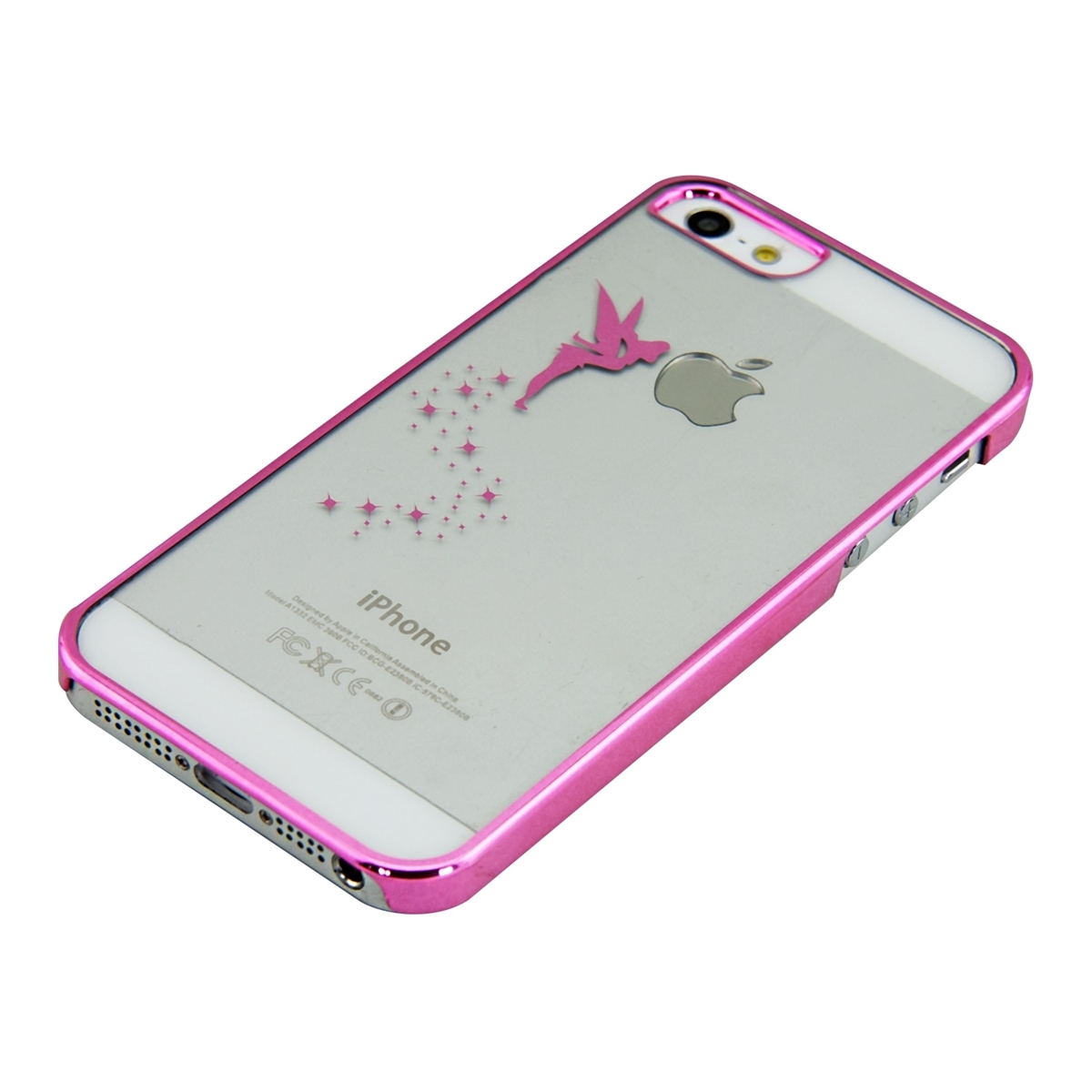kwmobile CRYSTAL HARD CASE FÜR APPLE IPHONE SE 5 5S COVER SCHUTZ HÜLLE