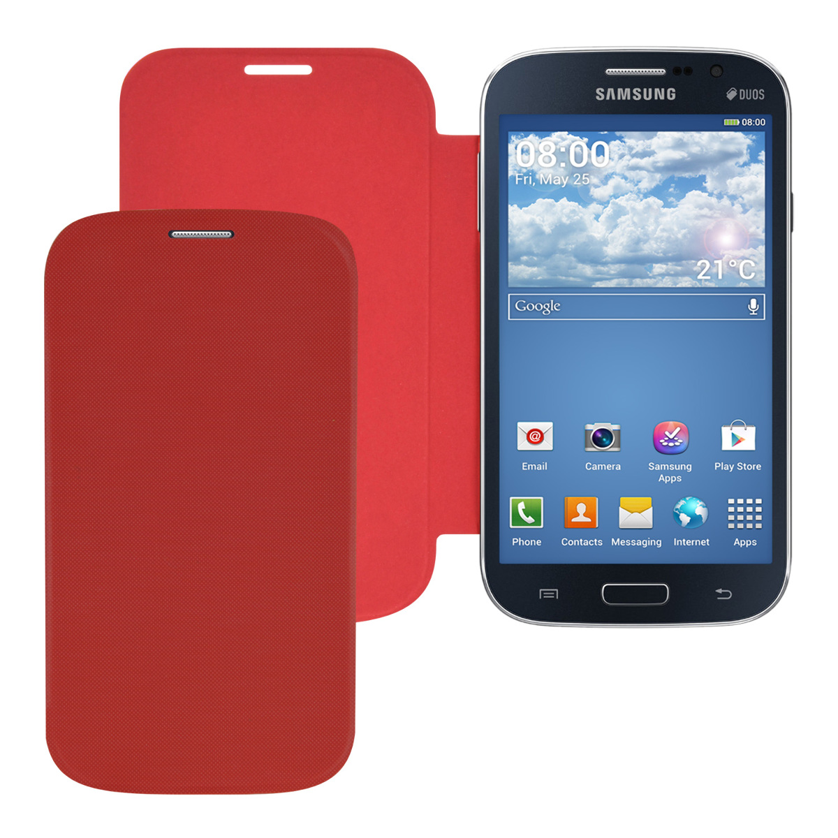 kwmobile-ETUI-DE-PROTECTION-POUR-SAMSUNG-GALAXY-GRAND-NEO-DUOS-A-RABAT-CHIC