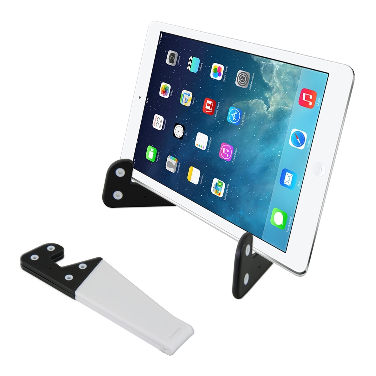 kwmobile support universel pour apple ipad mini 2 retina ipad mini 3 tablette ebay. Black Bedroom Furniture Sets. Home Design Ideas