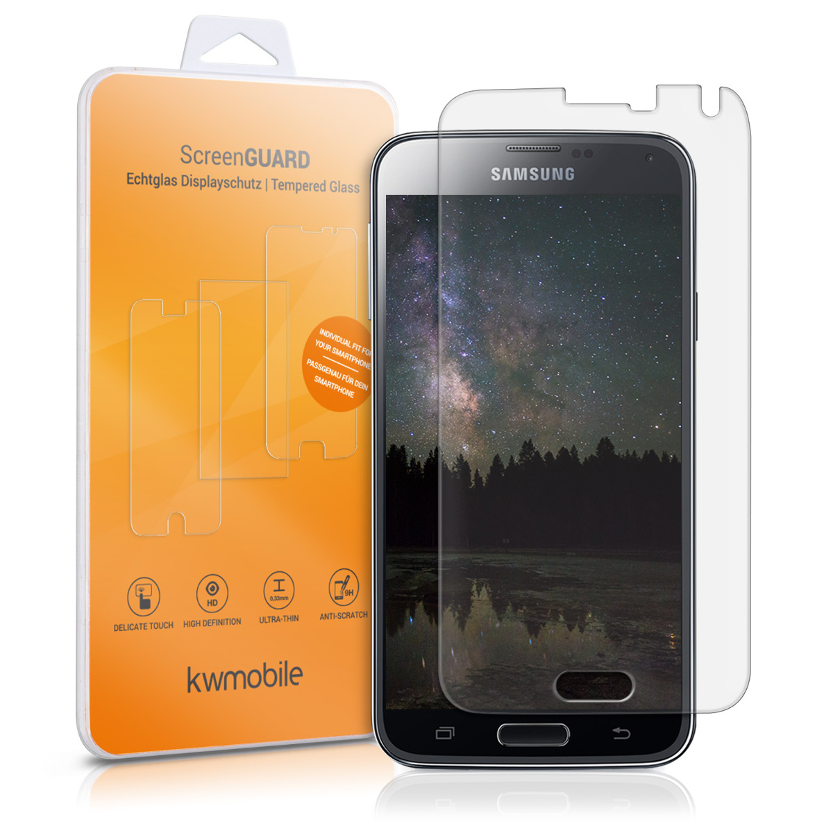 Ochranné sklo na display pro Samsung Galaxy S5 / S5 Neo