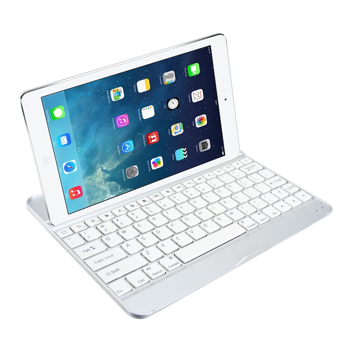 schutz h lle bluetooth keyboard f r apple ipad air tablet tasche tastatur case ebay. Black Bedroom Furniture Sets. Home Design Ideas
