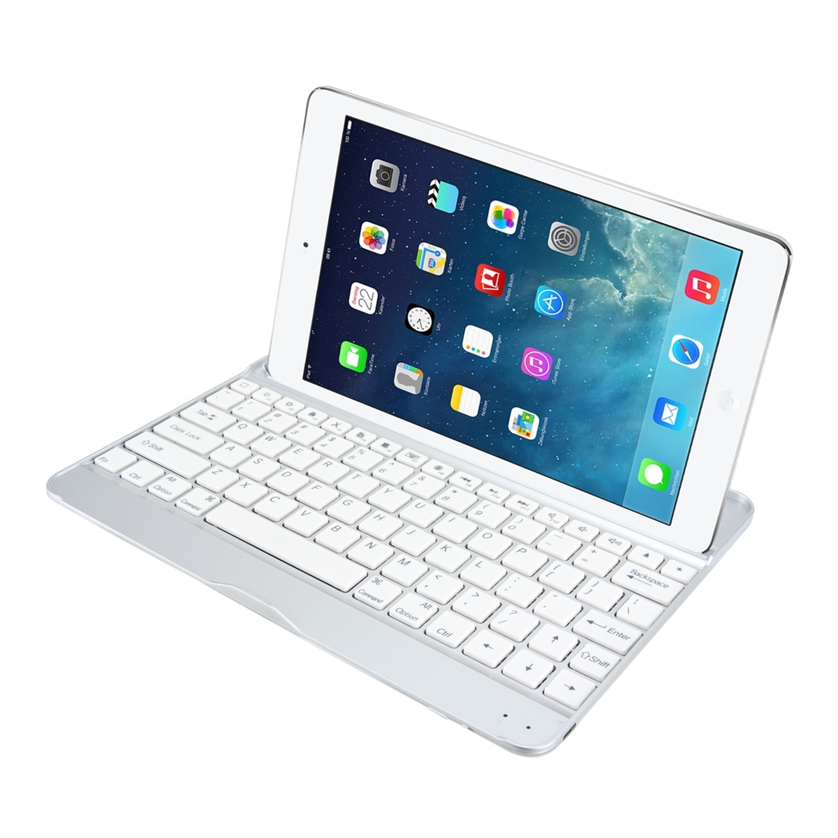 schutz h lle bluetooth keyboard f r apple ipad air tablet. Black Bedroom Furniture Sets. Home Design Ideas