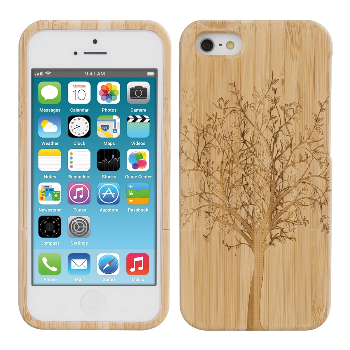 Holz Hulle Iphone Se