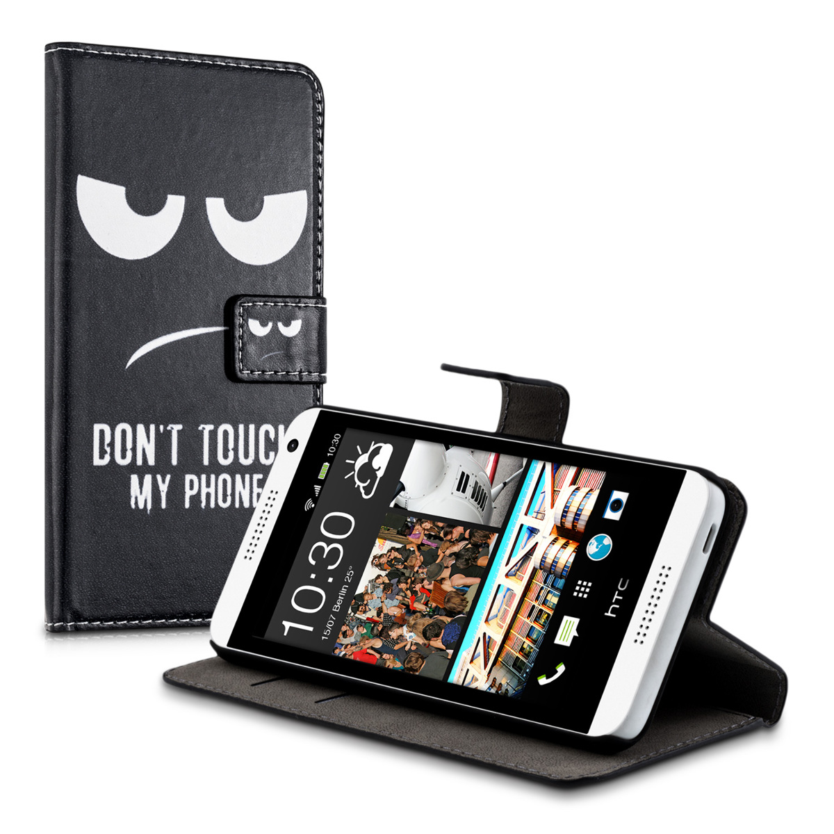 kwmobile-ETUI-EN-CUIR-SYNTHETIQUE-CHIC-POUR-HTC-DESIRE-610-SUPPORT-PRATIQUE
