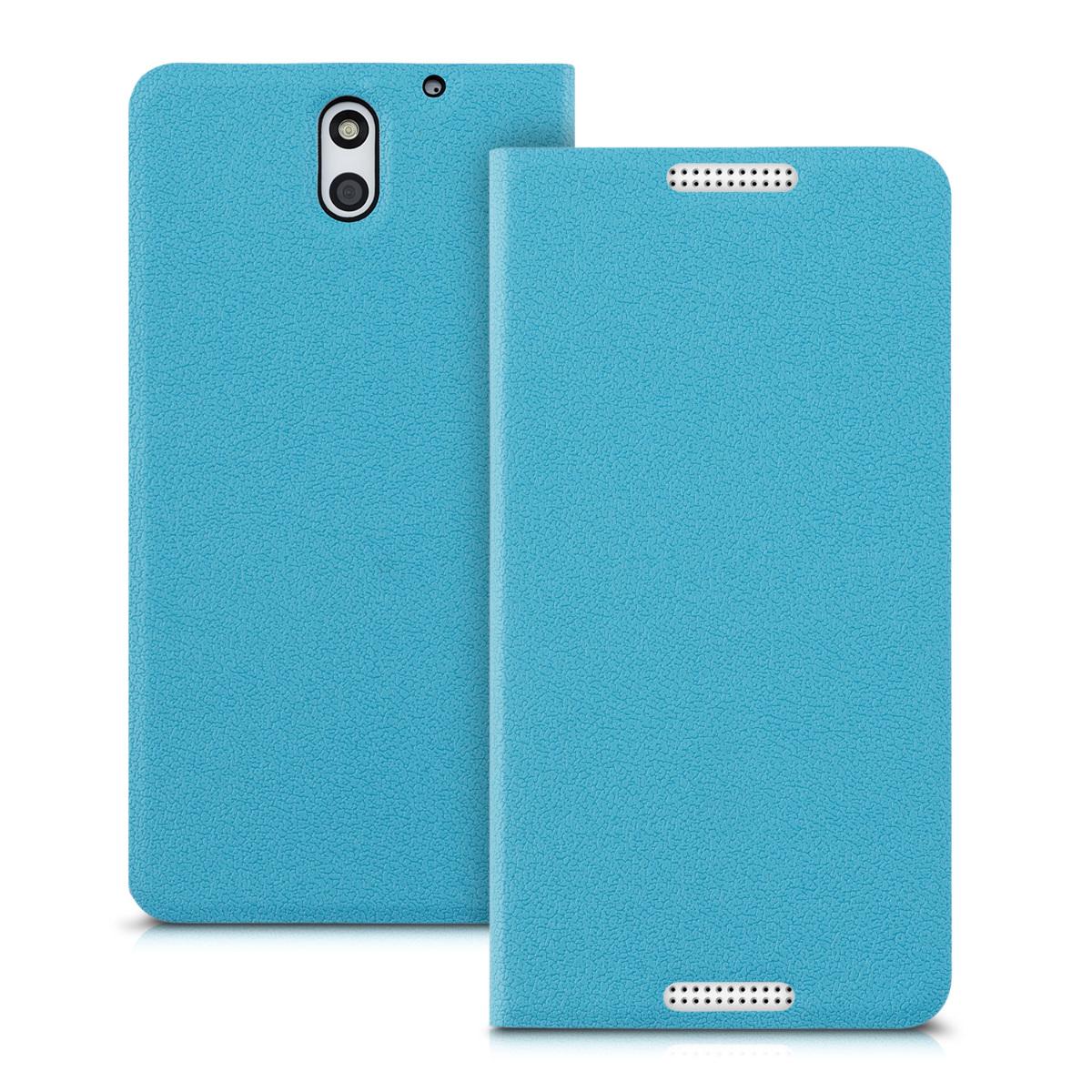 kwmobile FLIP COVER FOR HTC DESIRE 610 CASE SLIM BACK SHELL HARD MOBILE PHONE