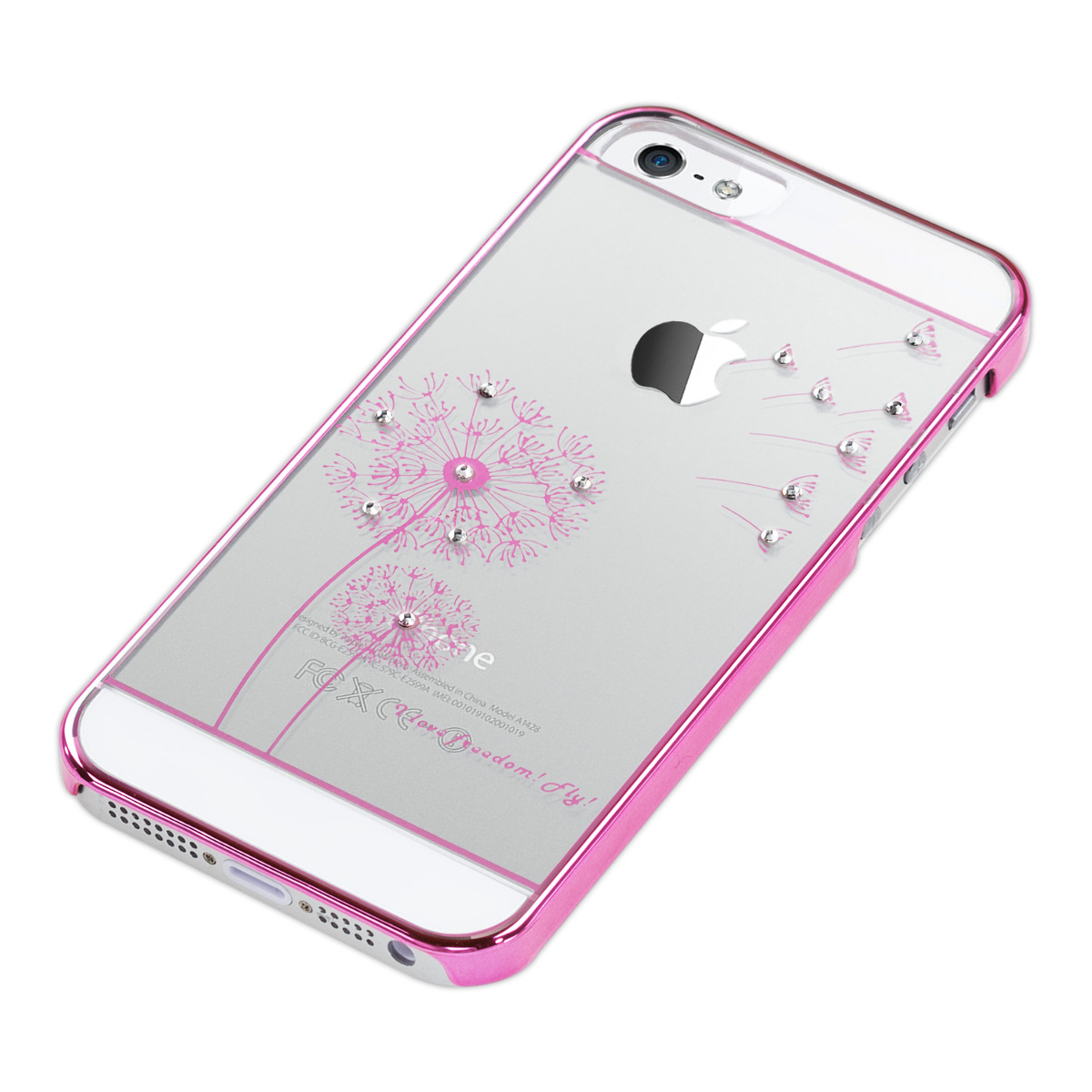 Details about kwmobile CRYSTAL CASE FOR APPLE IPHONE SE / 5 / 5S CLEAR ...