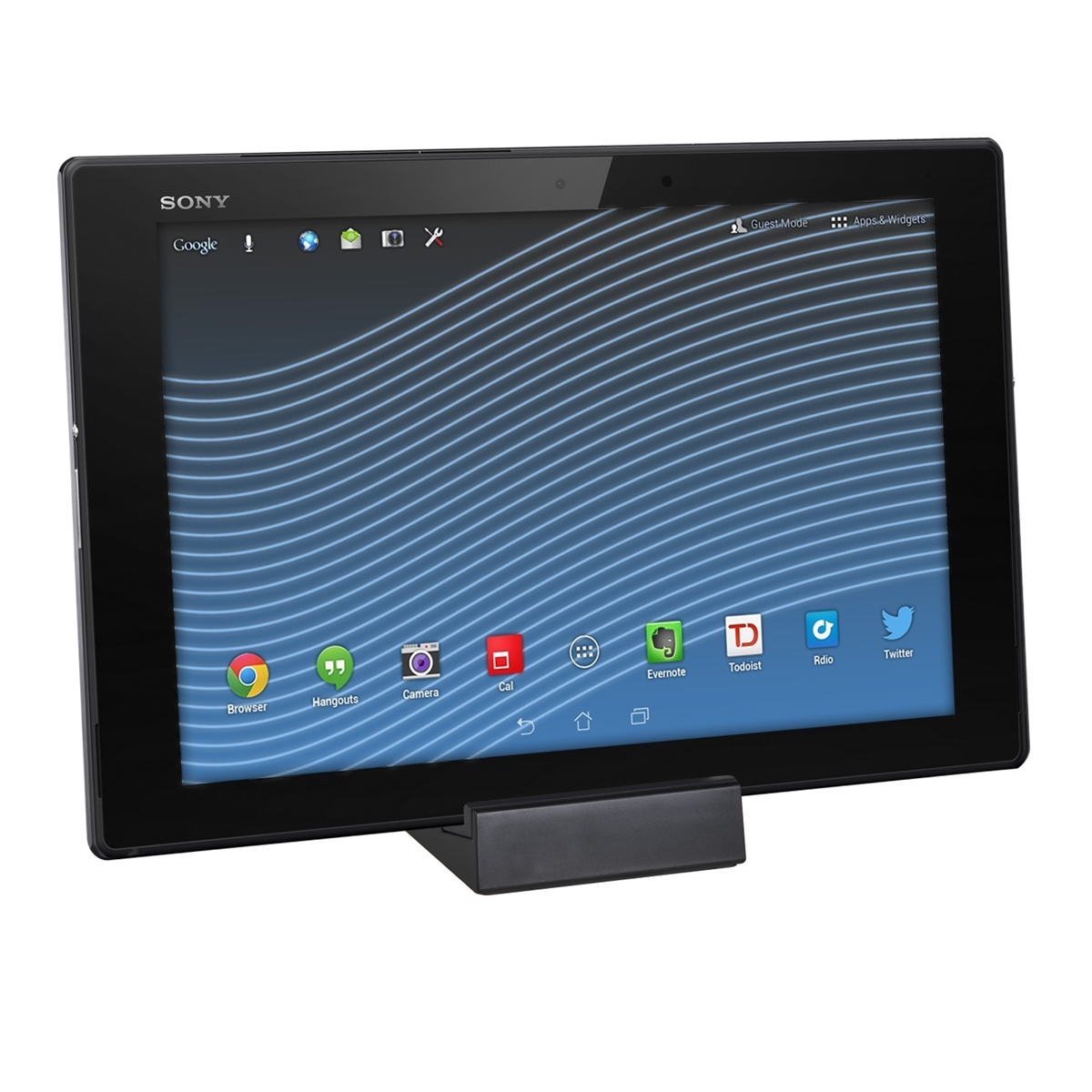 kwmobile lade station f r sony xperia tablet z2 z3 tablet compact magnet dock. Black Bedroom Furniture Sets. Home Design Ideas