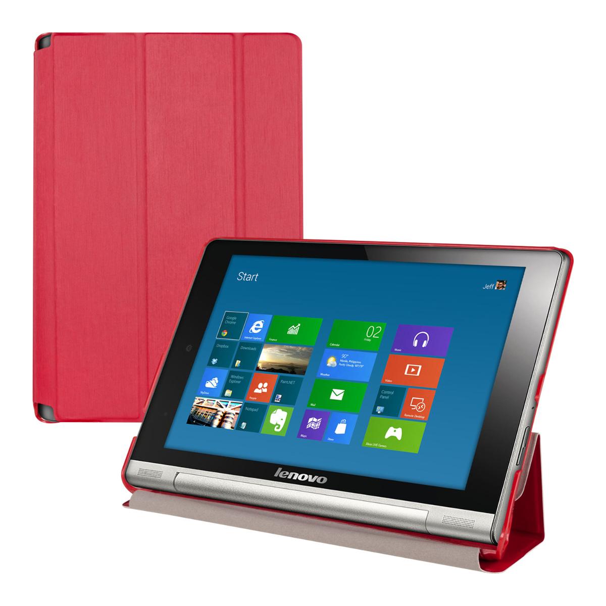 Funda para lenovo yoga tablet 8 rojo carcasa protectora - Funda protectora tablet ...