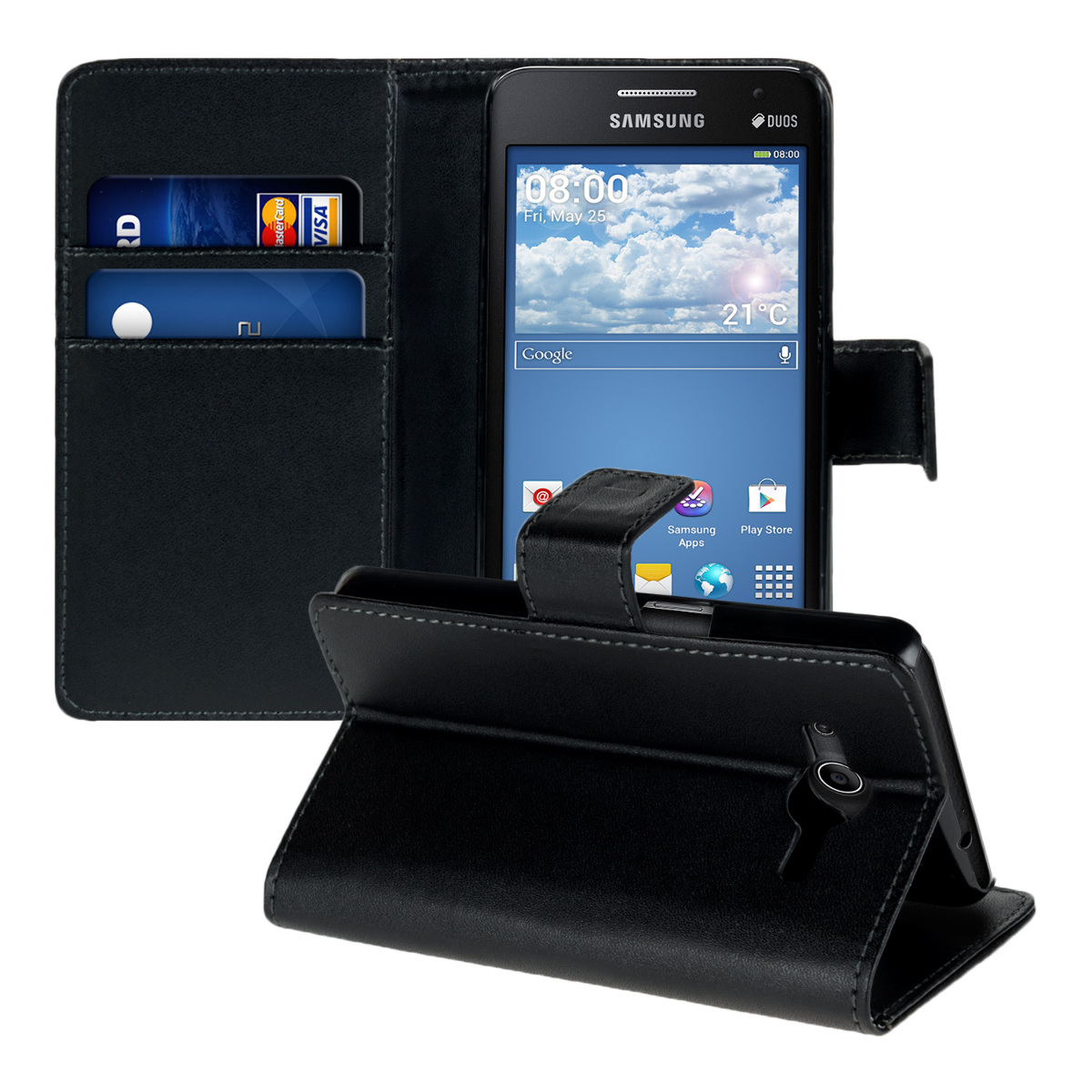 kwmobile-HOUSSE-EN-CUIR-SYNTHETIQUE-ELEGANT-POUR-SAMSUNG-GALAXY-CORE-II-DUOS