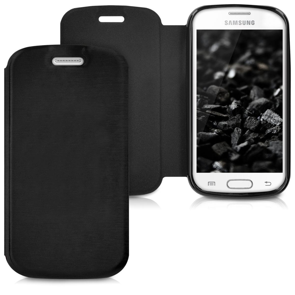 Kvalitní plastové pouzdro pro Samsung Trend lite - černé