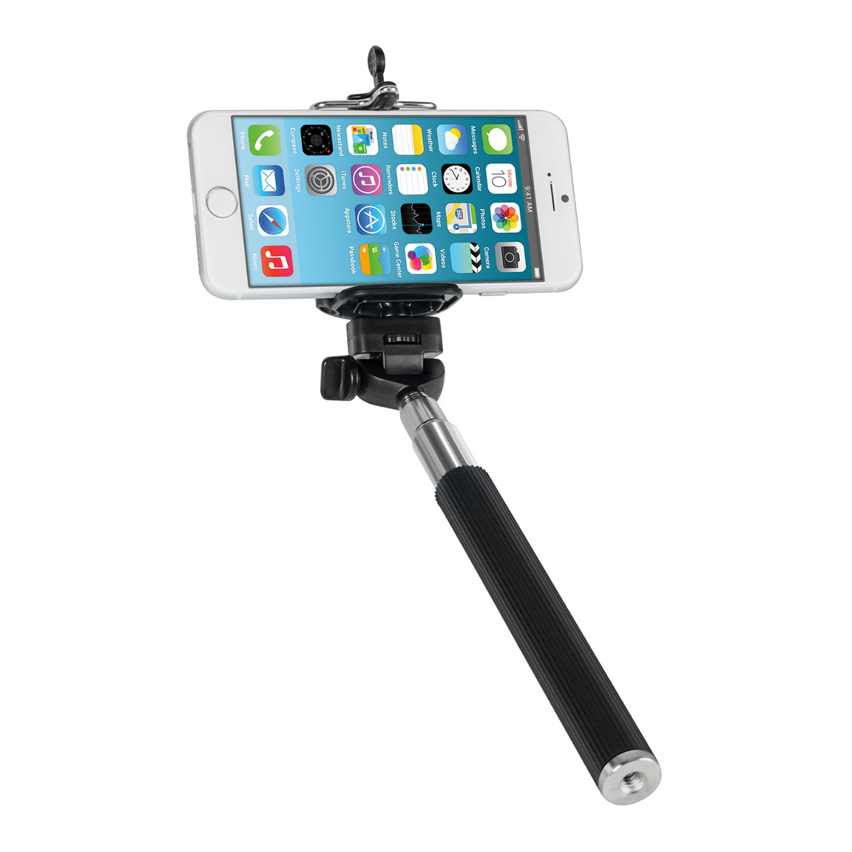 kwmobile universal selfie stick smartphone halter. Black Bedroom Furniture Sets. Home Design Ideas