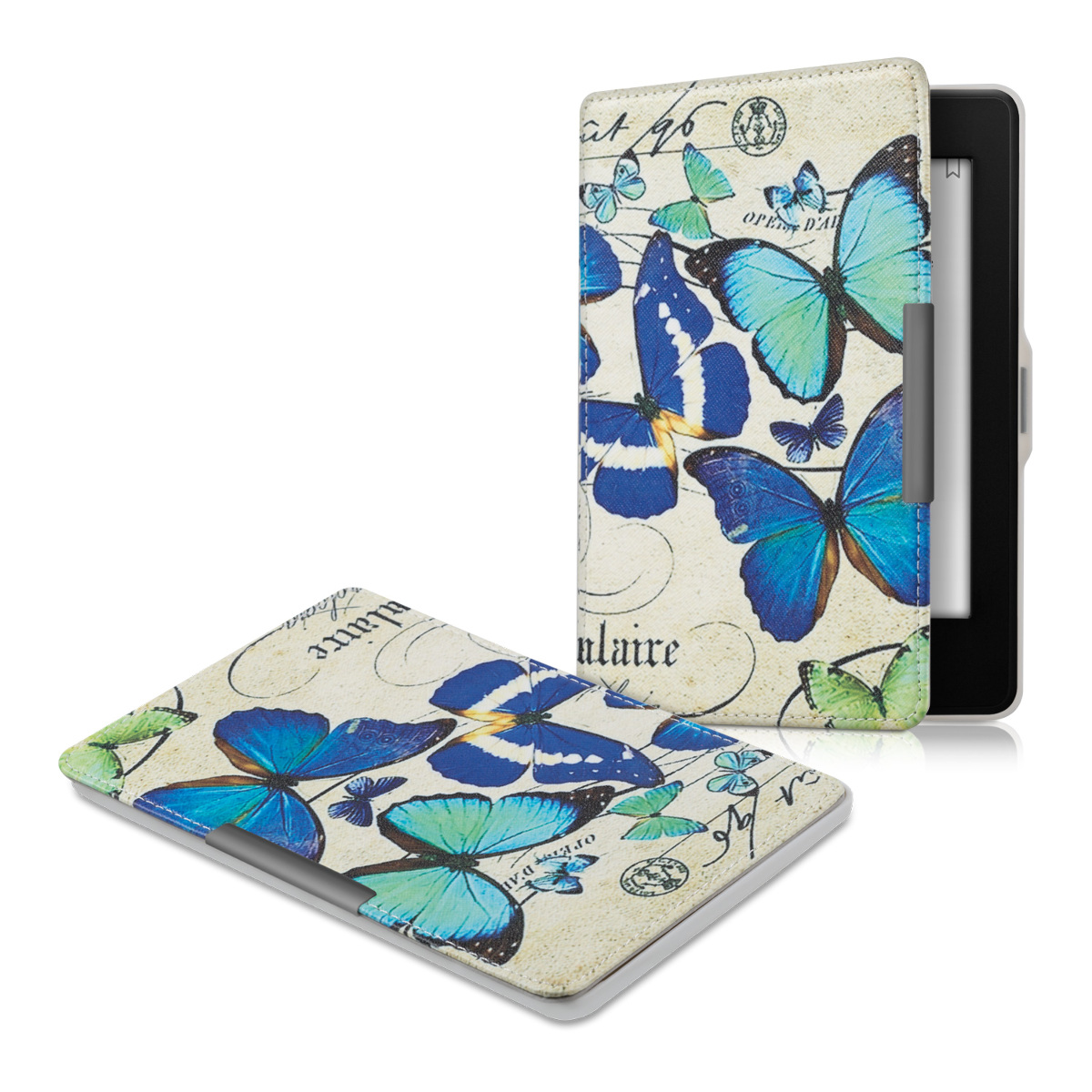 kwmobile LEATHER FLIP COVER FOR AMAZON KINDLE PAPERWHITE (2012 / 2013 / 2014)