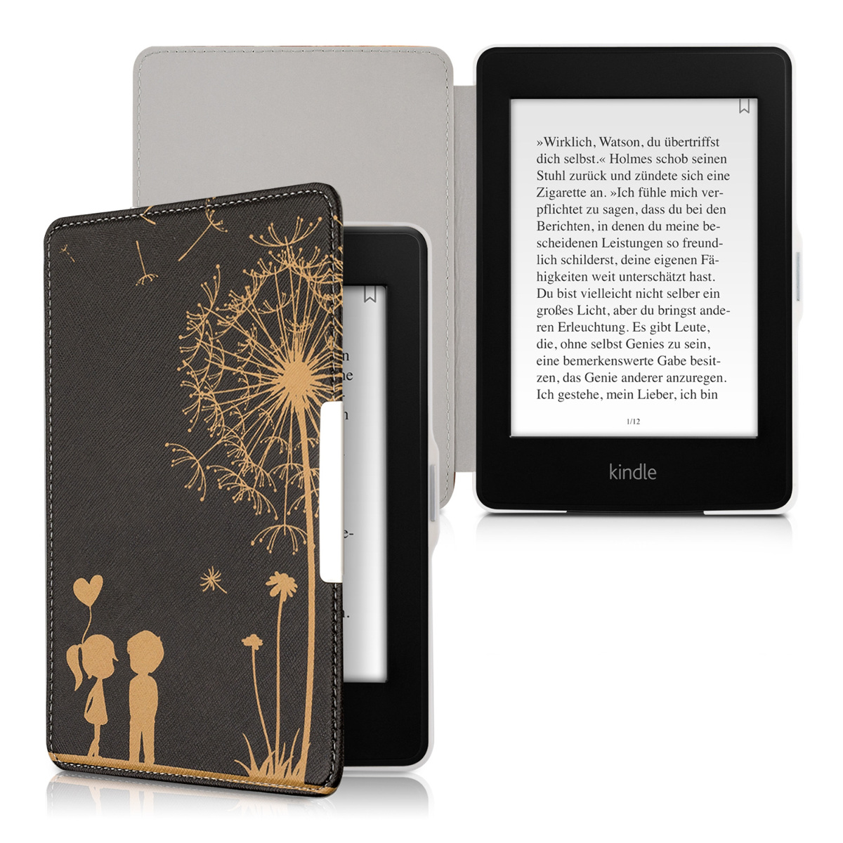 Slim PU Leather Case Cover For Amazon Kindle Paperwhite