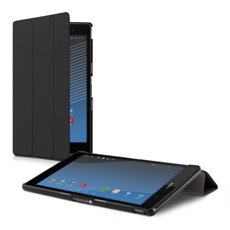 Kožené pouzdro | obal pro Sony Xperia Tablet Z3 Compact - černé