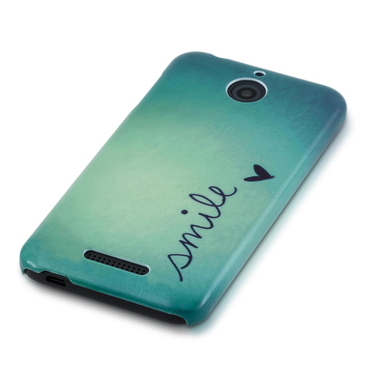 Kwmobile Hard Cover Design For Htc Desire 510 Case Back Shell Bumper Mobile Ebay