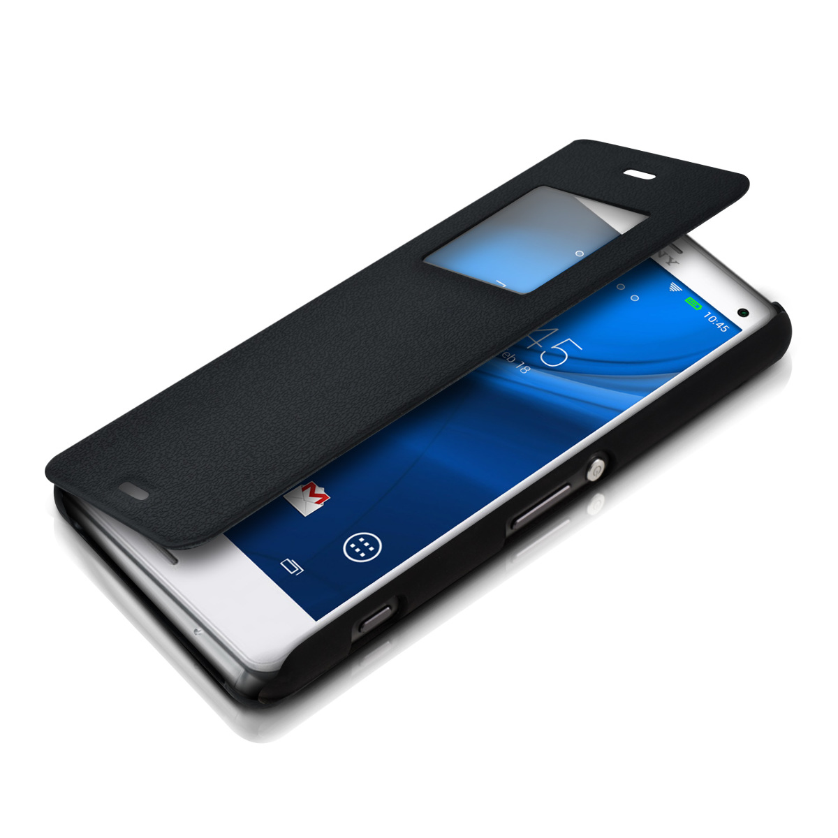 sony xperia z3 compact flip case