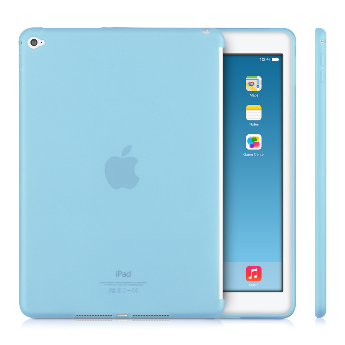 TPU SILICONE COVER FOR APPLE IPAD AIR 2 SOFT CASE SILICON BUMPER