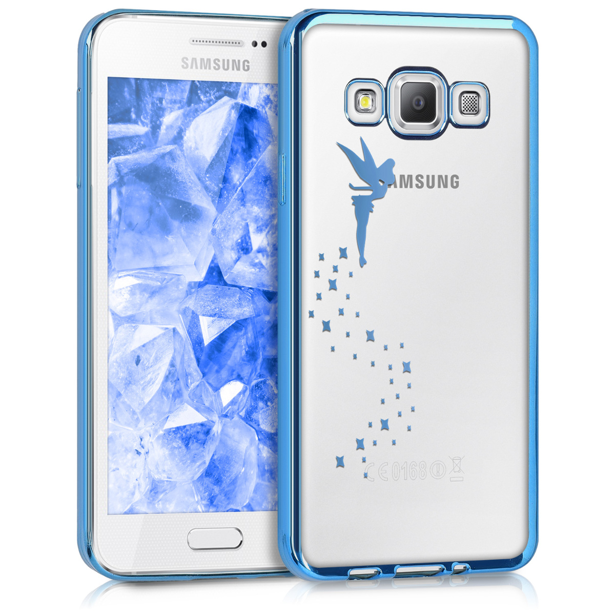 kwmobile crystal case for samsung galaxy a3 2015 clear. Black Bedroom Furniture Sets. Home Design Ideas