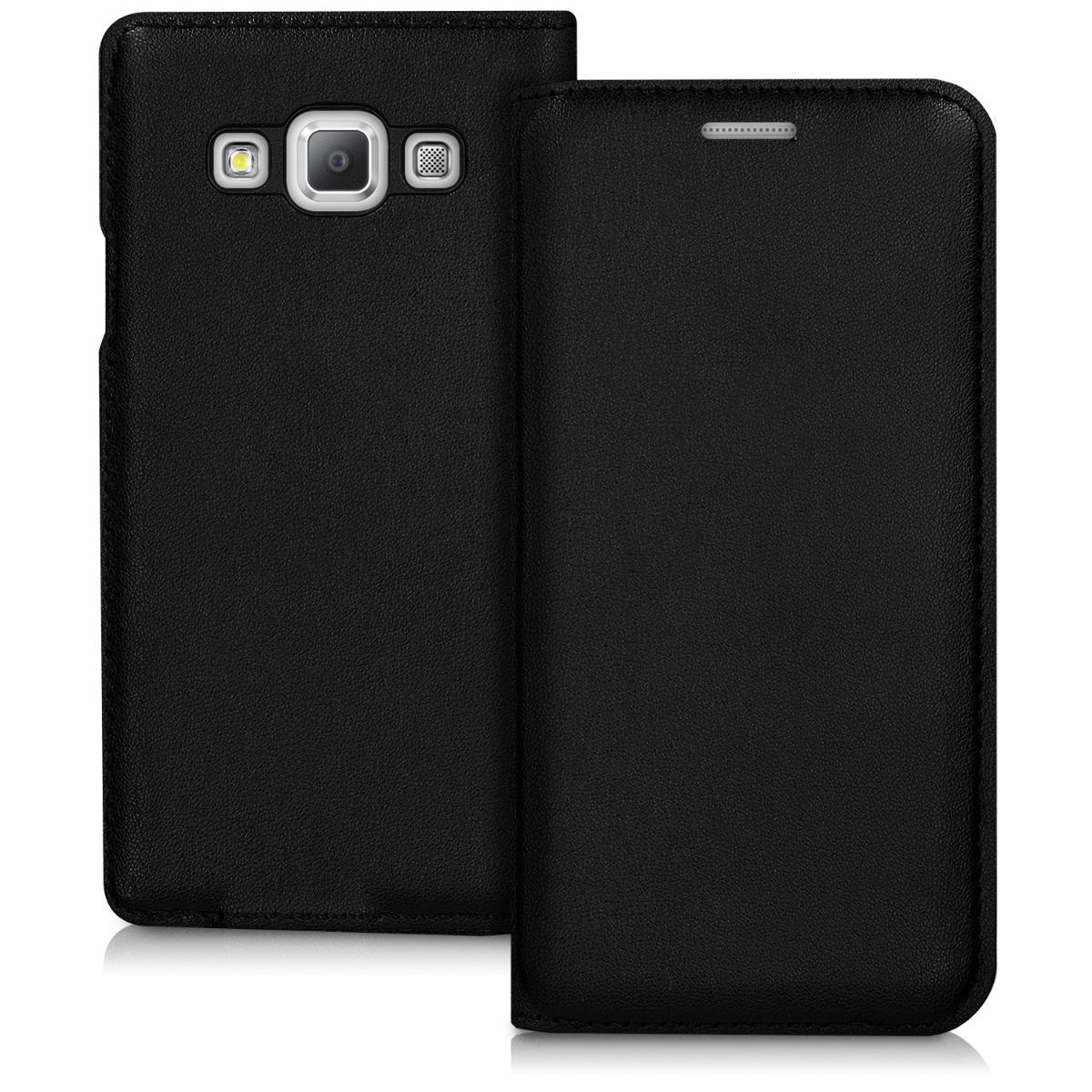 Kvalitní plastové pouzdro pro Samsung A3 (2015) - černé