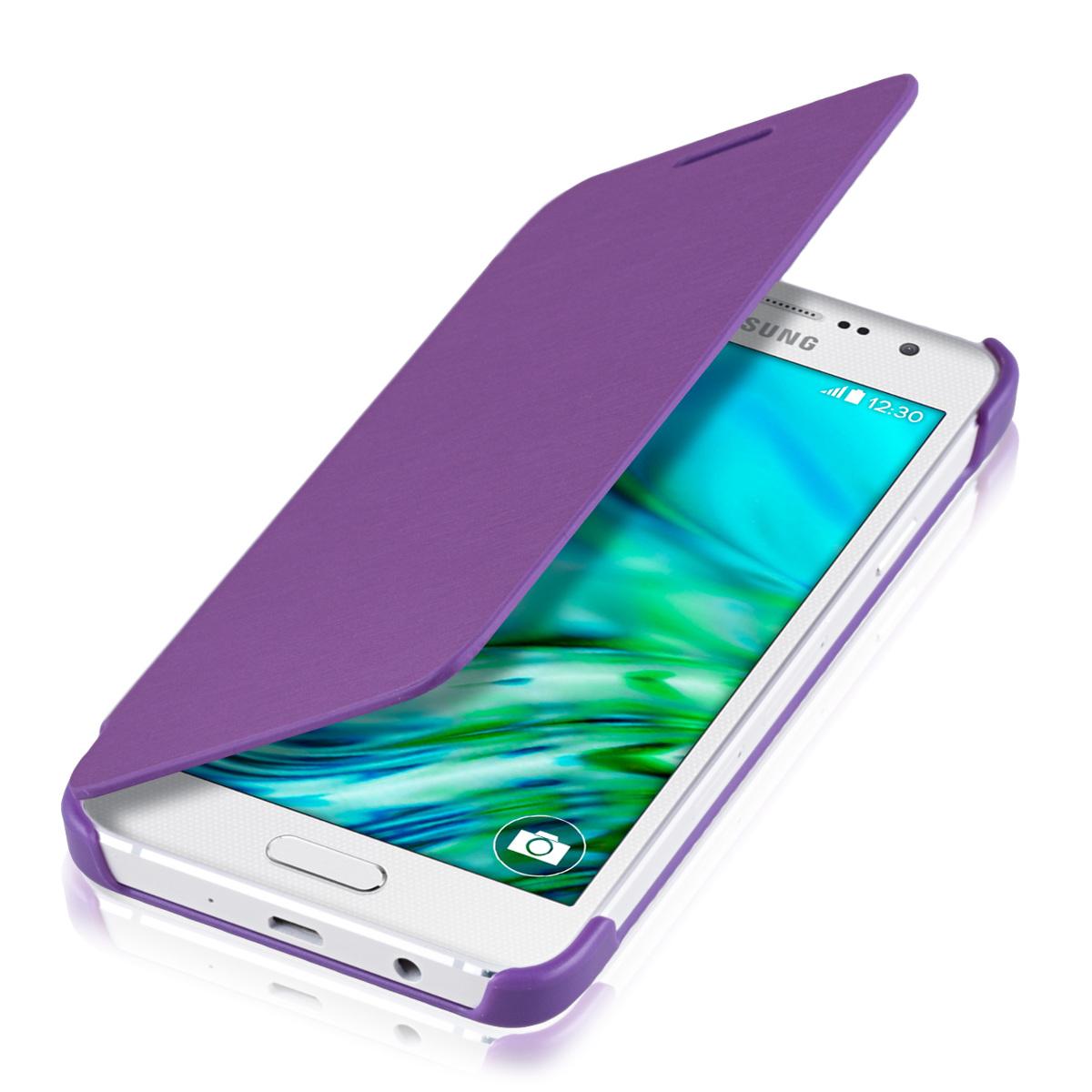 Kvalitní plastové pouzdro pro Samsung A3 (2015) - fialový