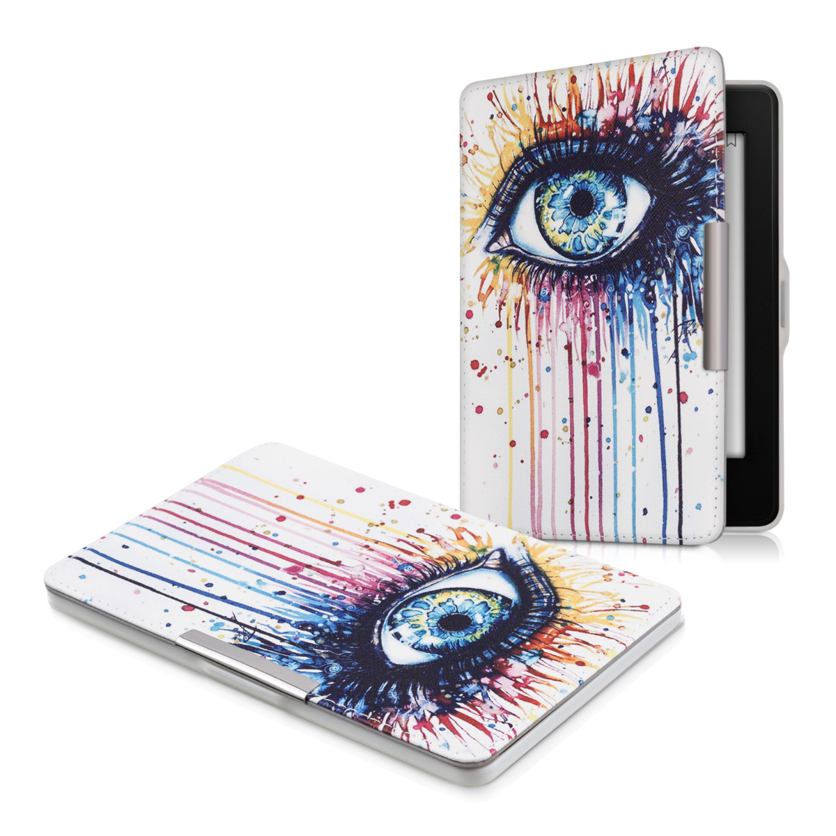 Kwmobile Leather Flip Cover For Amazon Kindle Paperwhite