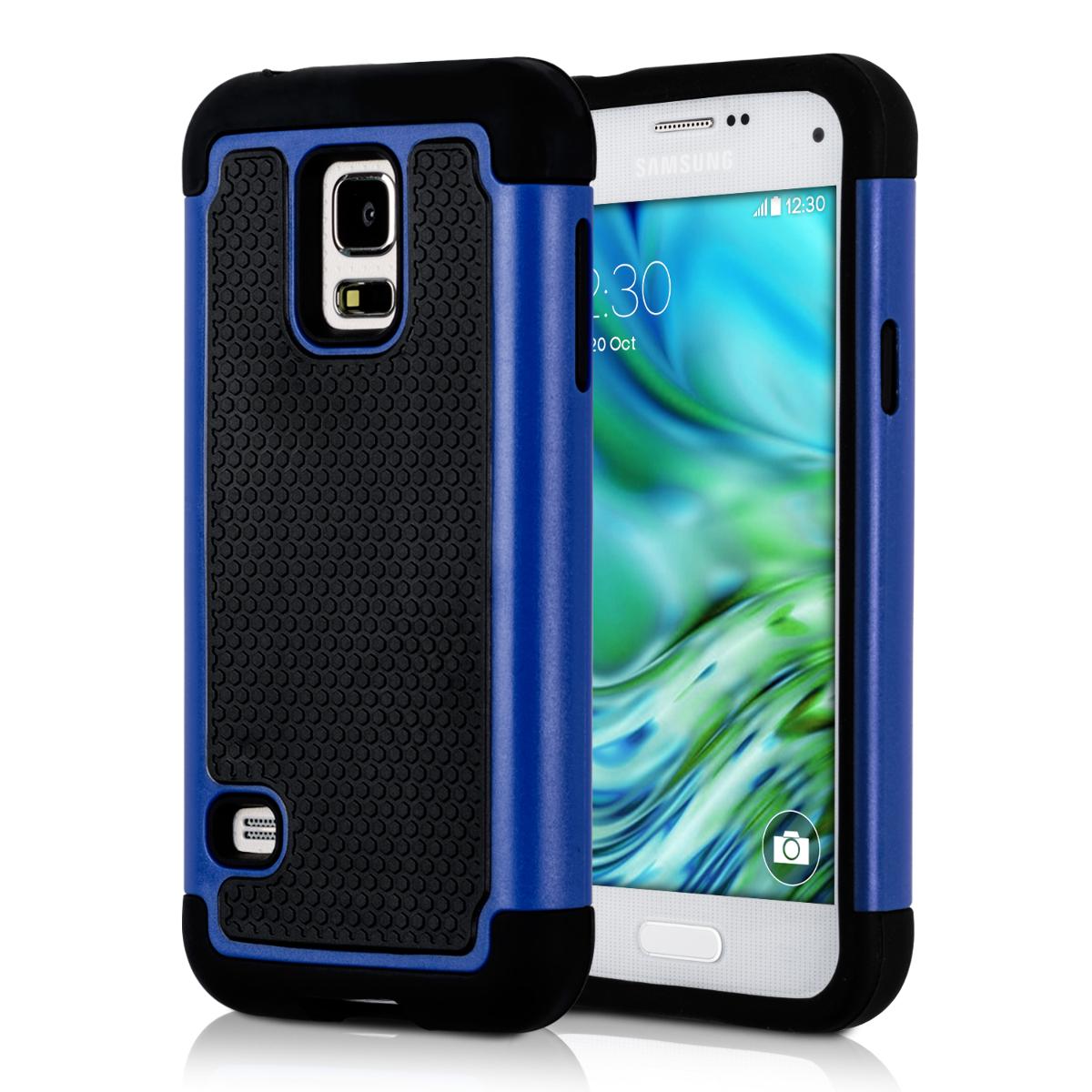 AKCE IHNED! Kvalitní plastové pouzdro pro Samsung S5 Mini G800 - modré, černé
