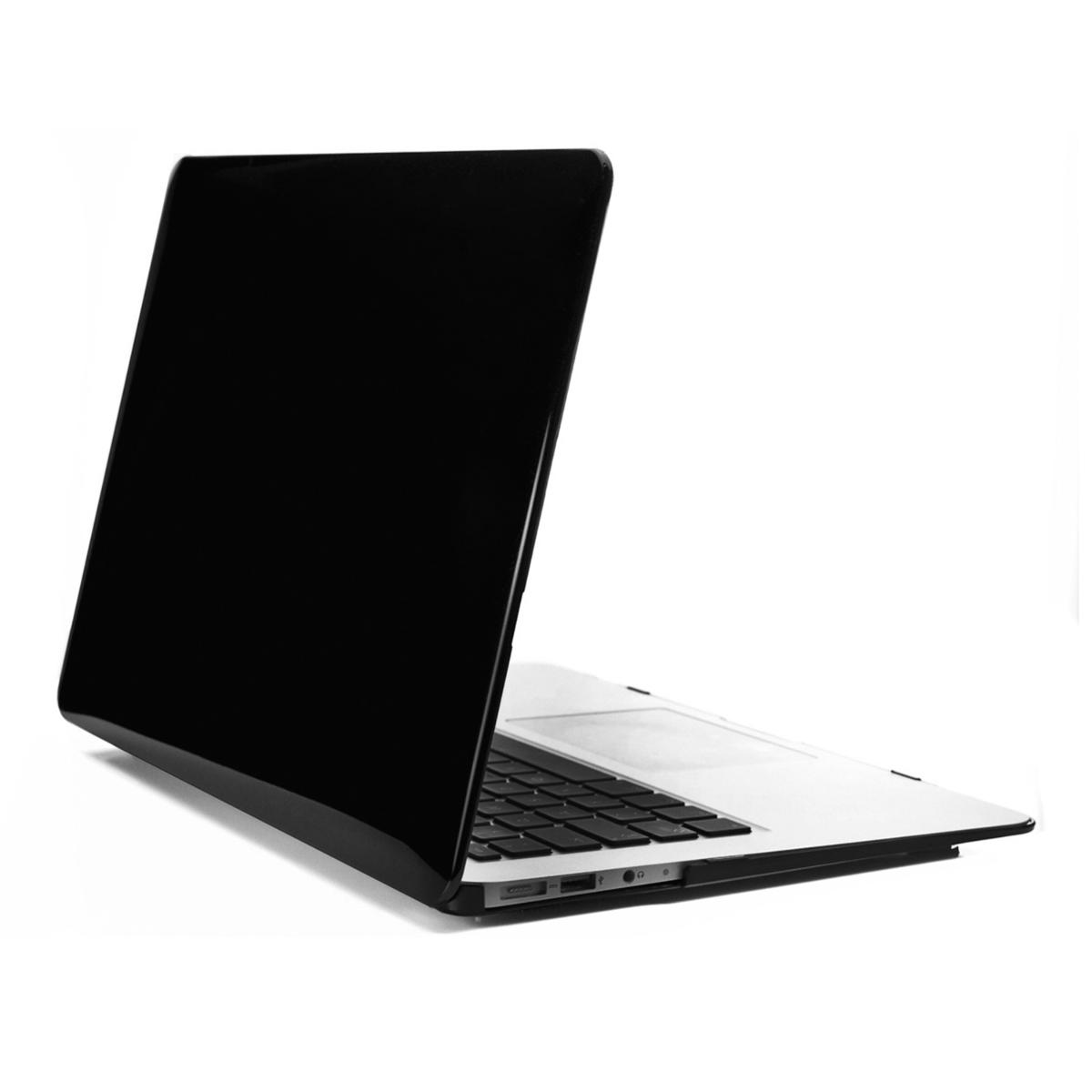 kwmobile crystal cover f r apple macbook air 11 schwarz schutz h lle case. Black Bedroom Furniture Sets. Home Design Ideas