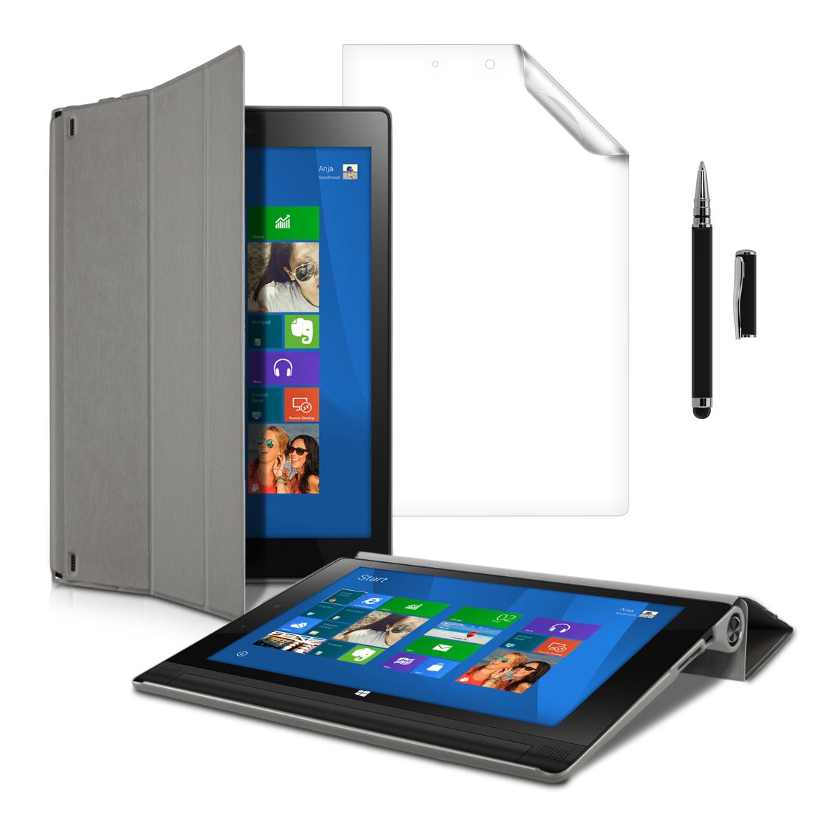 Ultra Slim Cover For Lenovo Yoga Tablet 2 10 1050 Grey