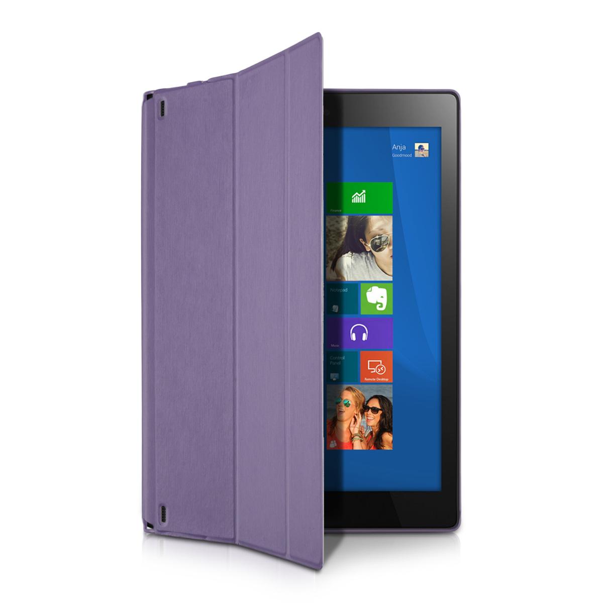Funda para lenovo yoga tablet 2 10 1050 violeta carcasa - Funda protectora tablet ...