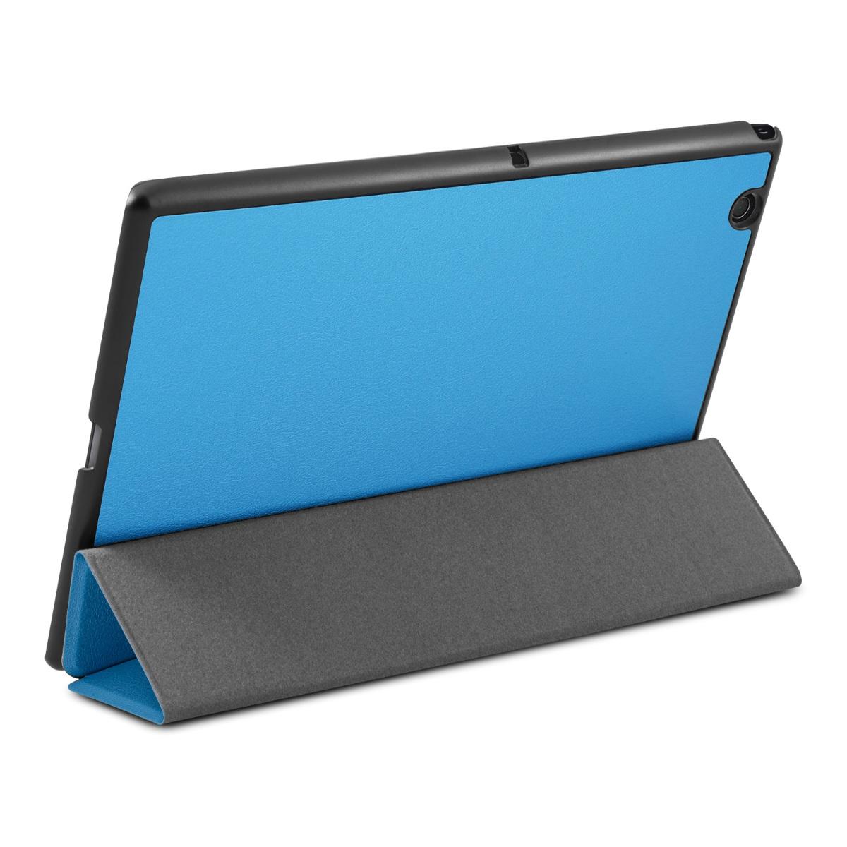 Funda para sony xperia tablet z4 azul claro carcasa protectora estuche m vil ebay - Funda xperia z tablet ...