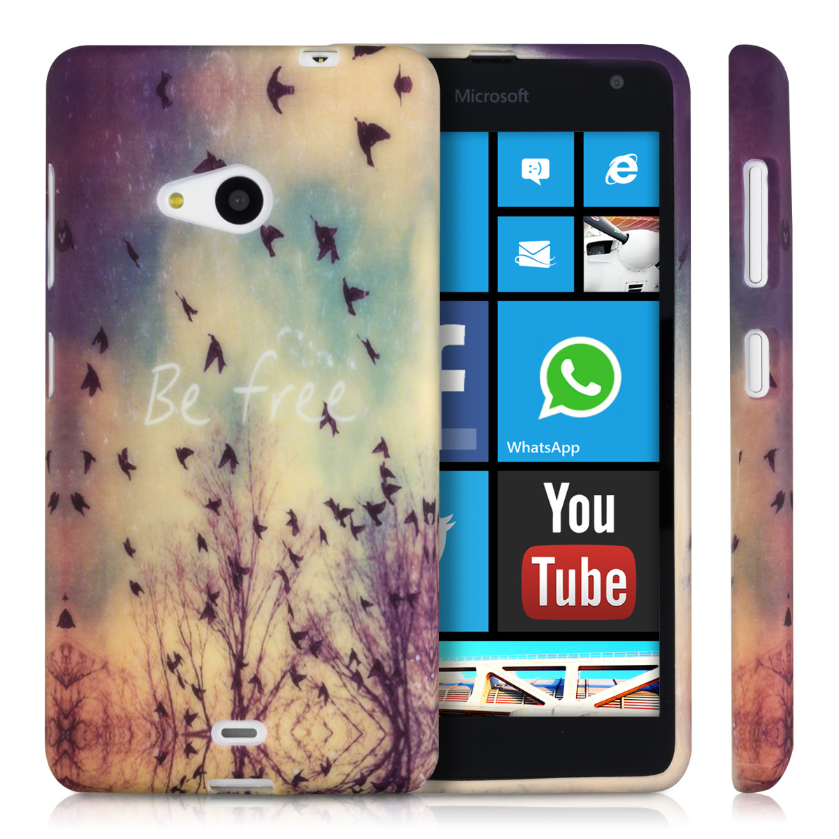 kwmobile tpu silikon case f r microsoft lumia 535 wunschfarbe silikon h lle ebay. Black Bedroom Furniture Sets. Home Design Ideas
