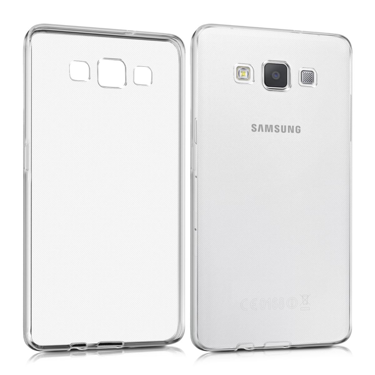Kvalitní silikonové TPU pouzdro pro Samsung A5 (2015) - průhledné