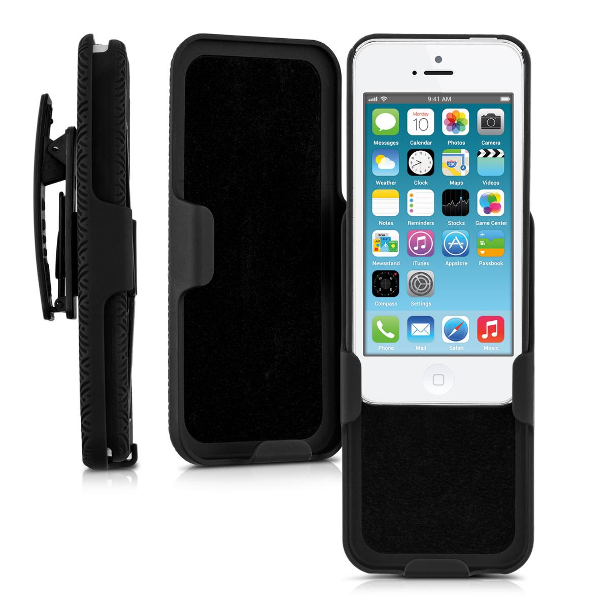 hard case g rtelclip f r apple iphone se 5 5s h lle cover. Black Bedroom Furniture Sets. Home Design Ideas